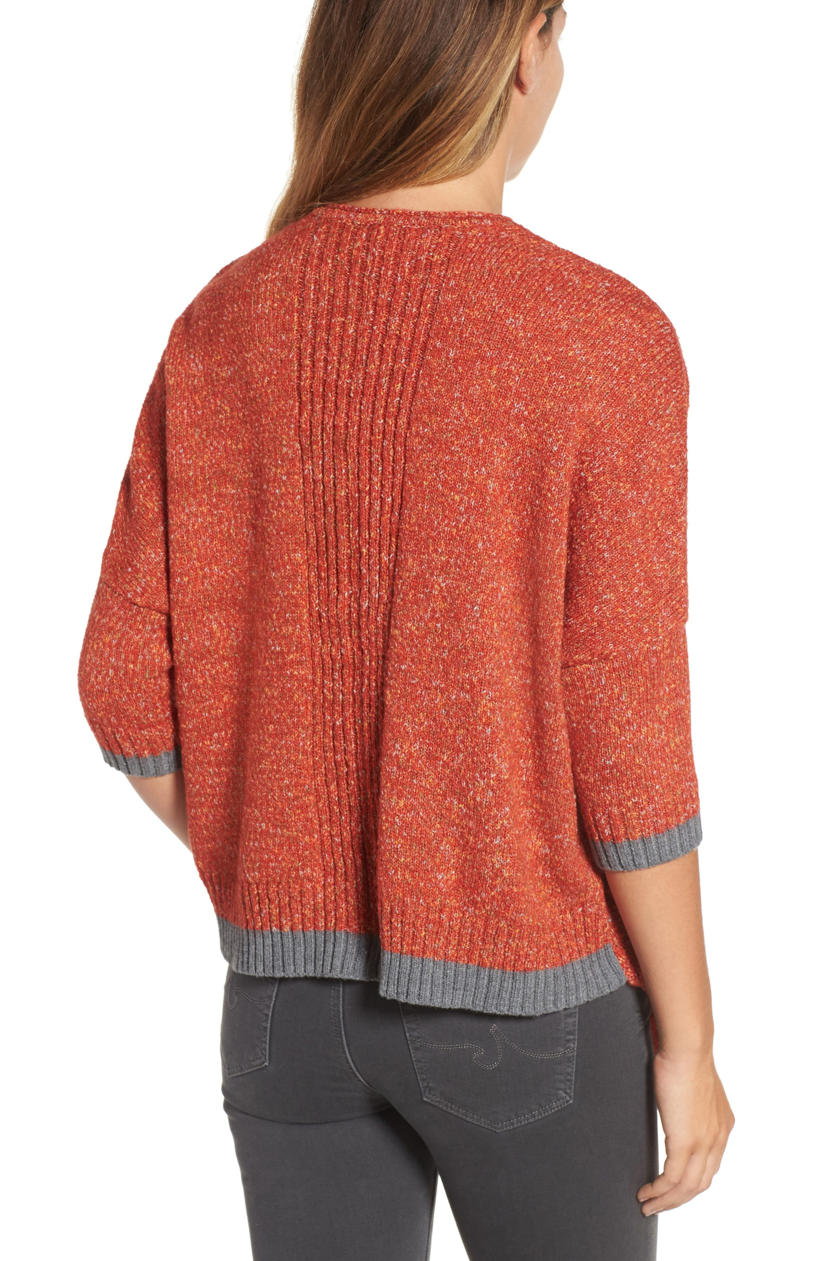 Alternate Image 2  - Wit & Wisdom Open Front Knit Cardigan (Nordstrom Exclusive)