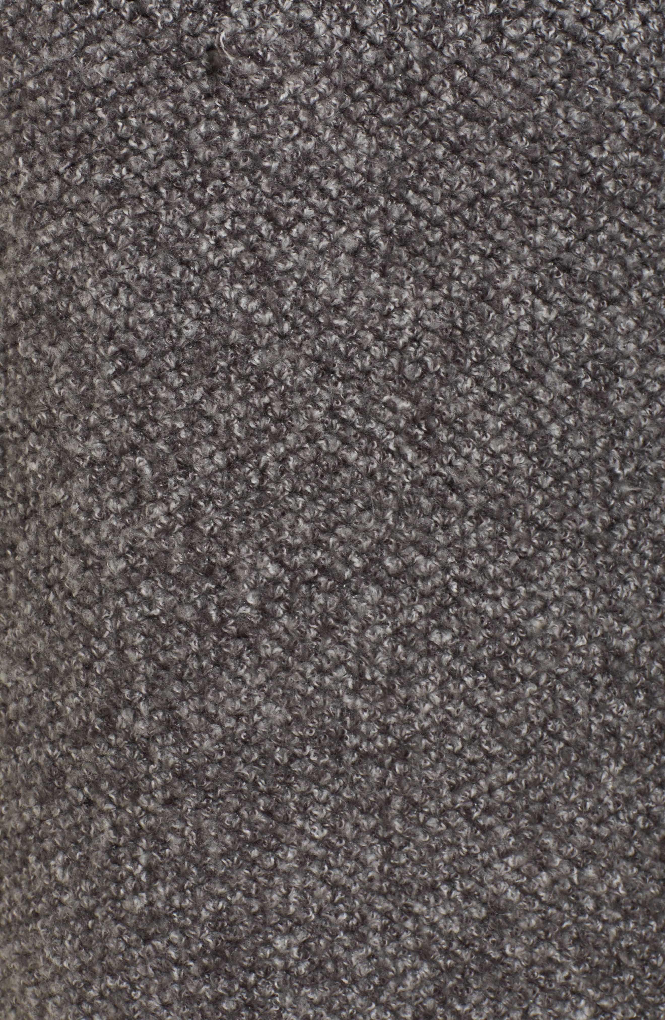 Kala Knit Sweater Jacket,                             Alternate thumbnail 5, color,                             Grey