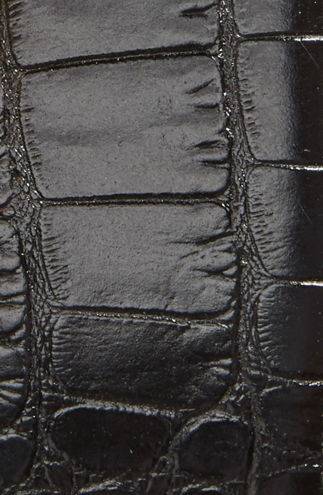 Gancini Leather Belt,                             Alternate thumbnail 2, color,                             Black