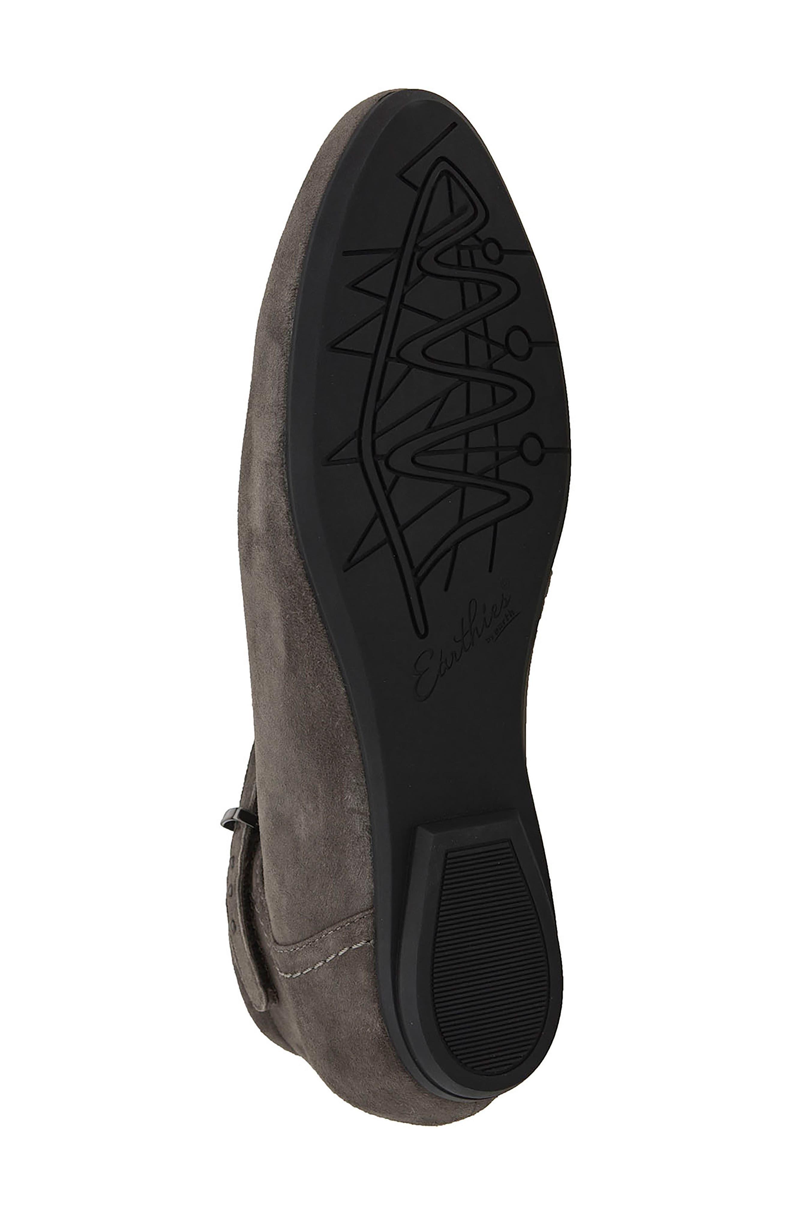 Alternate Image 6  - Earthies® Emery Ankle Strap Flat (Women)