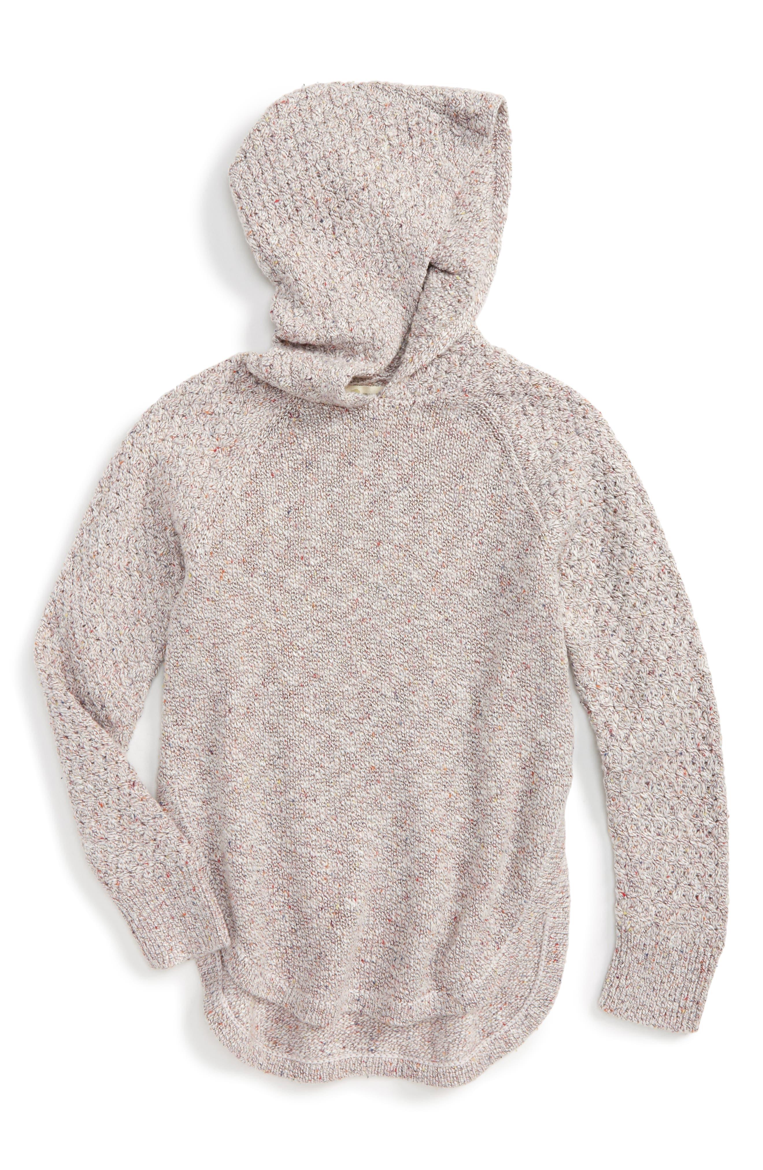 Tucker + Tate Hooded Sweater (Toddler Girls, Little Girls & Big Girls)