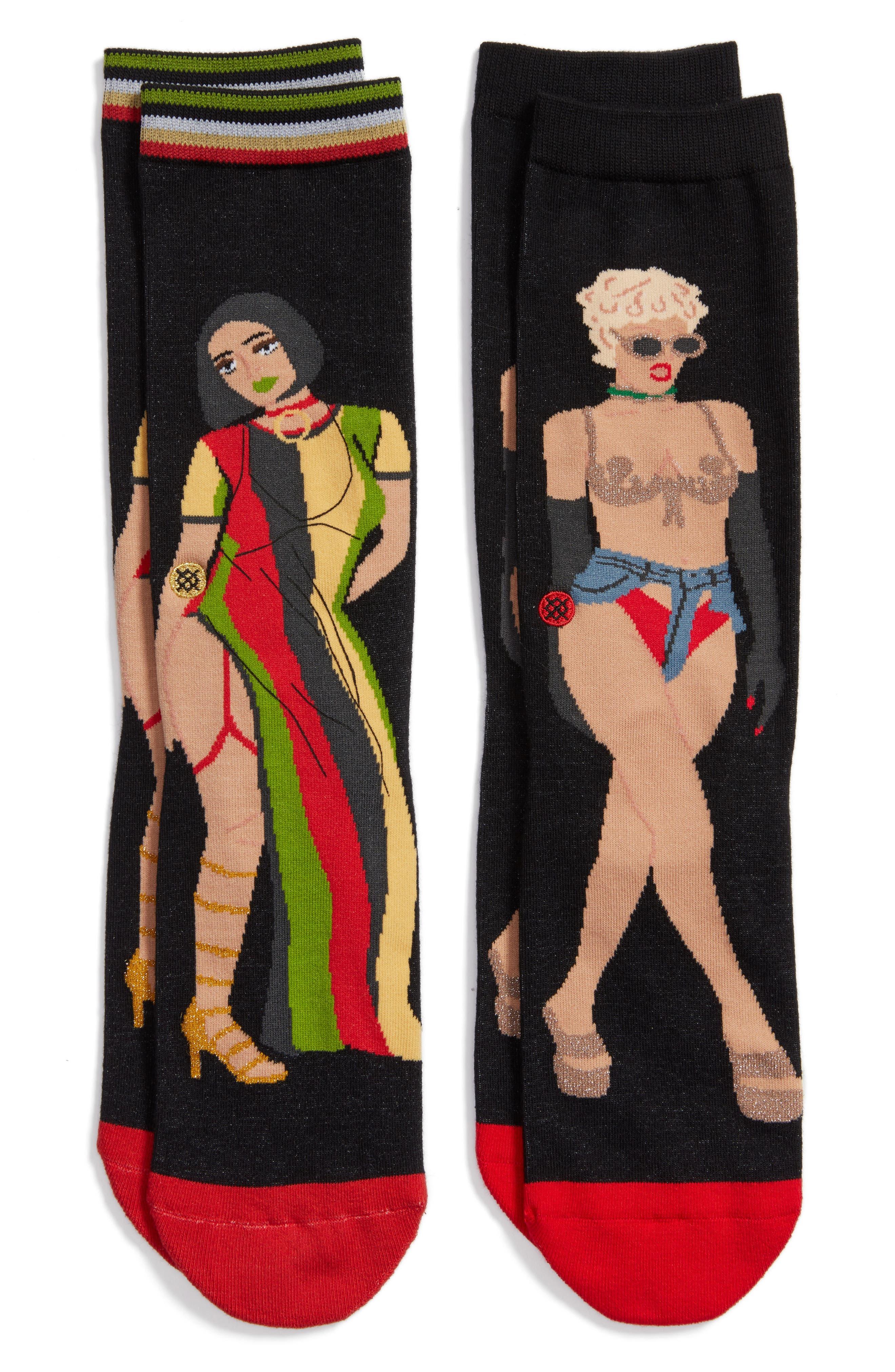 Alternate Image 1 Selected - Stance x Rihanna Music Video Crew Socks