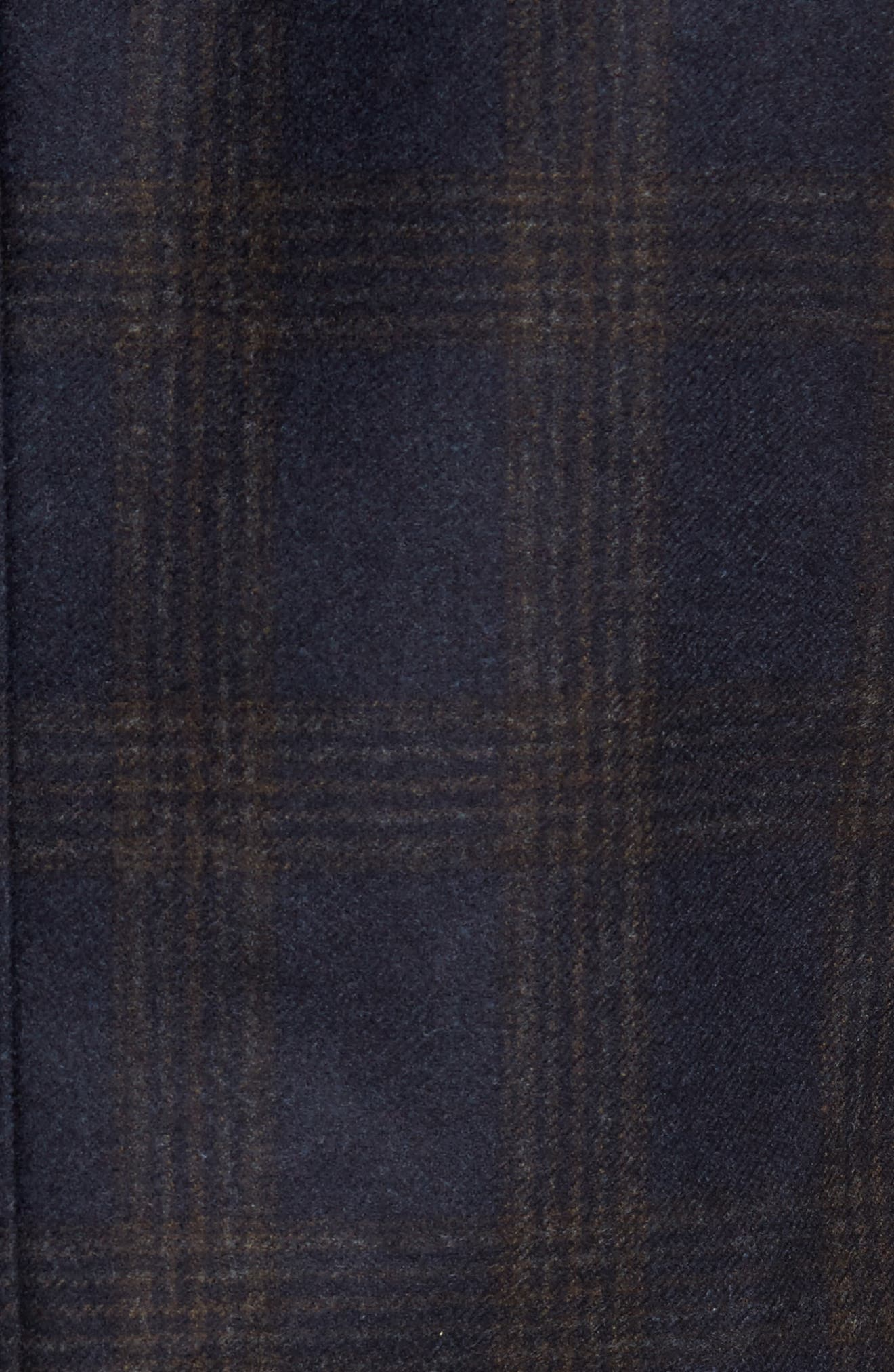 Classic Fit Hooded Sport Coat,                             Alternate thumbnail 5, color,                             Navy Plaid