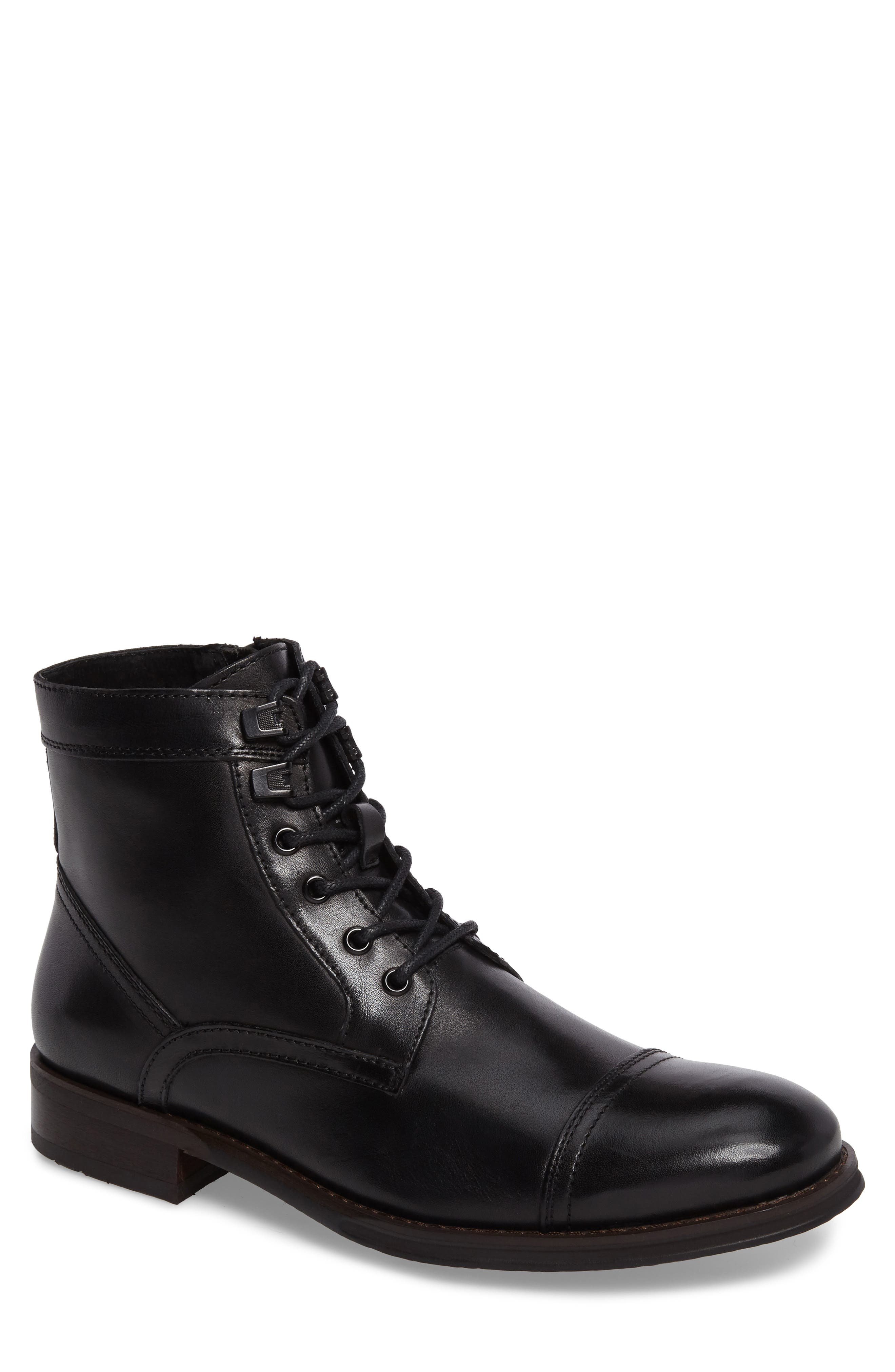 Kenneth Cole New York Cap Toe Boot (Men)