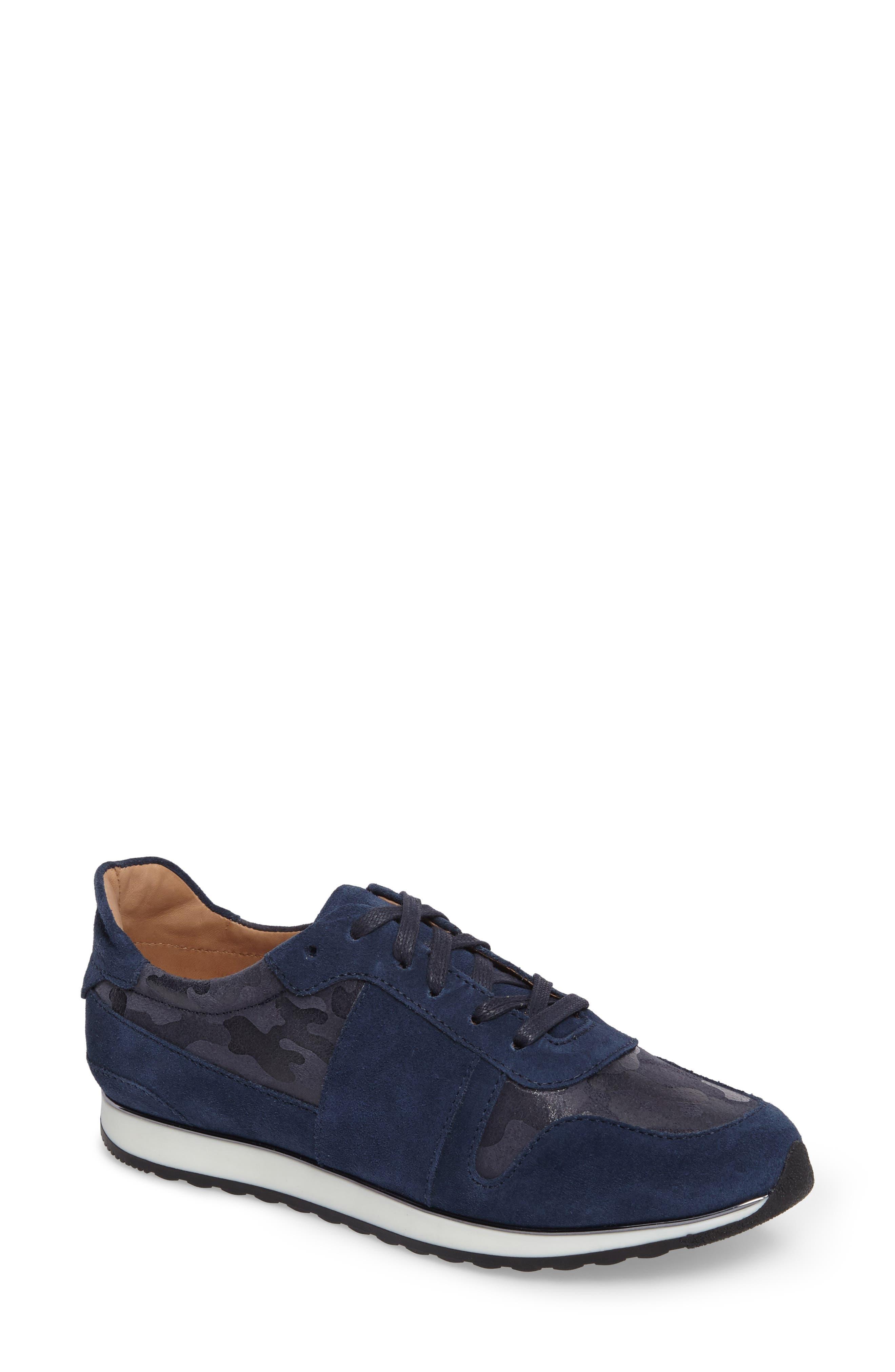 Stefani Sneaker,                             Main thumbnail 1, color,                             Camo Nubuck Leather