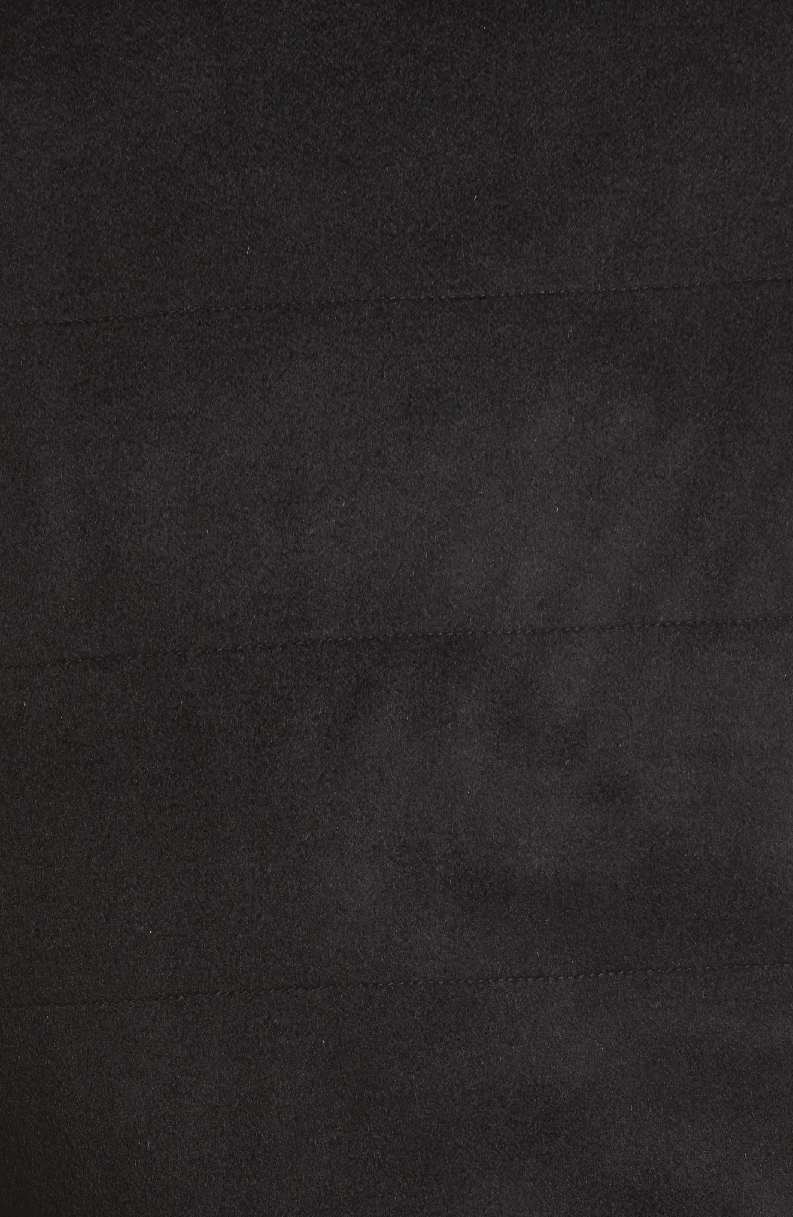 Crown Darien Wool & Cashmere Vest,                             Alternate thumbnail 5, color,                             Black