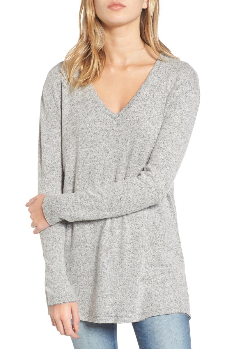 V-Neck Long Sleeve Sweater | Nordstrom