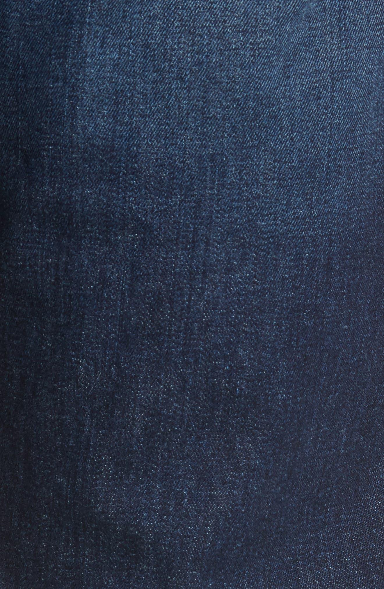 Alternate Image 5  - DL1961 Russell Slim Straight Leg Jeans (Marine)