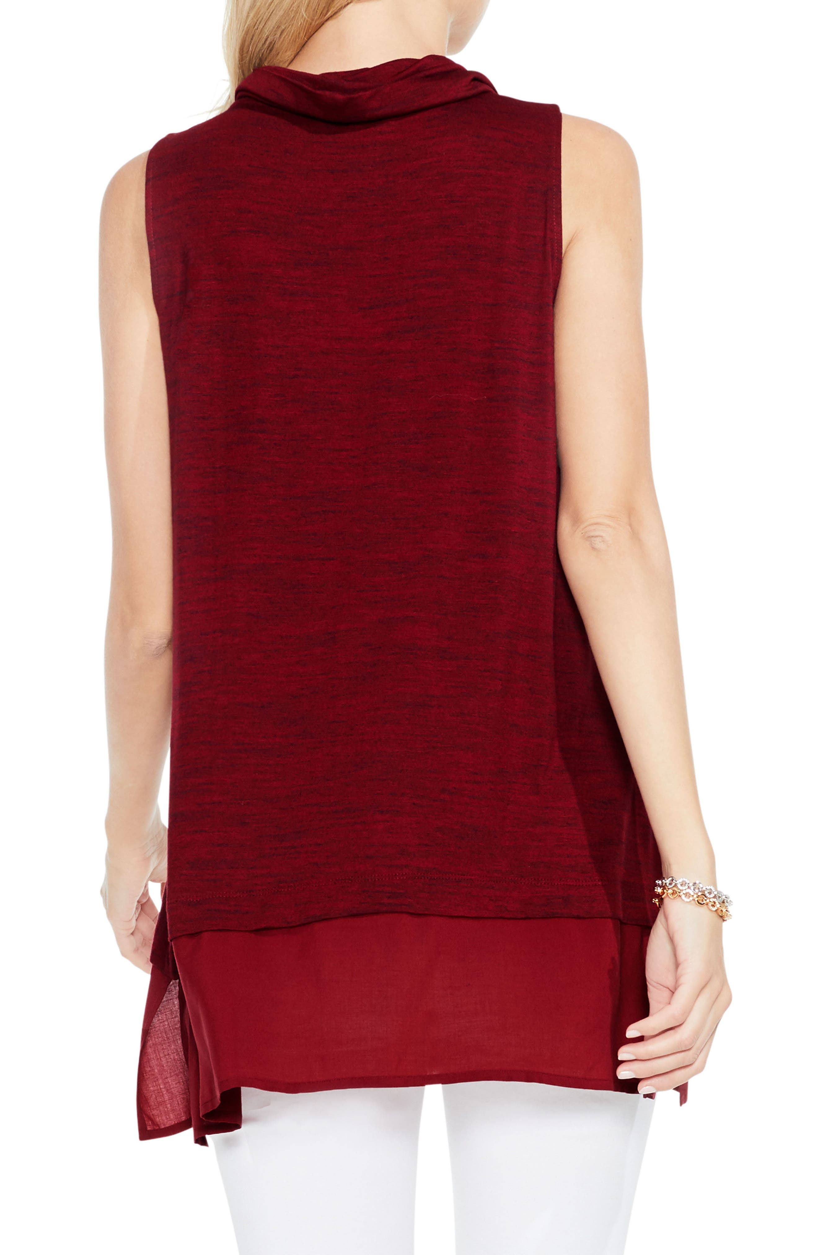 Alternate Image 3  - Two by Vince Camuto Space Dye Knit Top