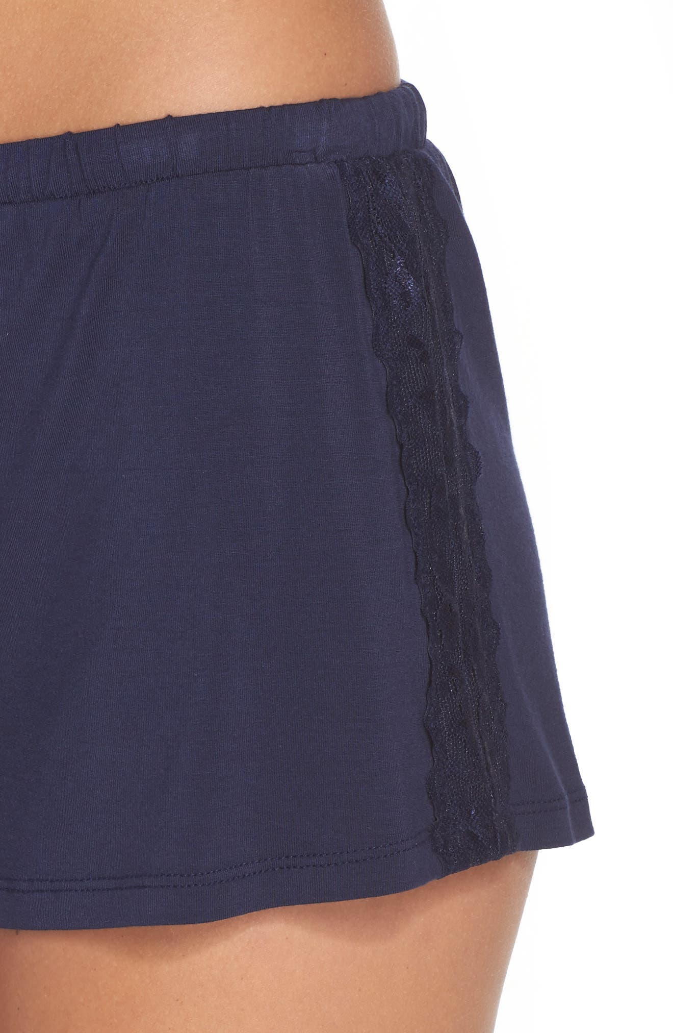 Lounge Shorts,                             Alternate thumbnail 6, color,                             Navy