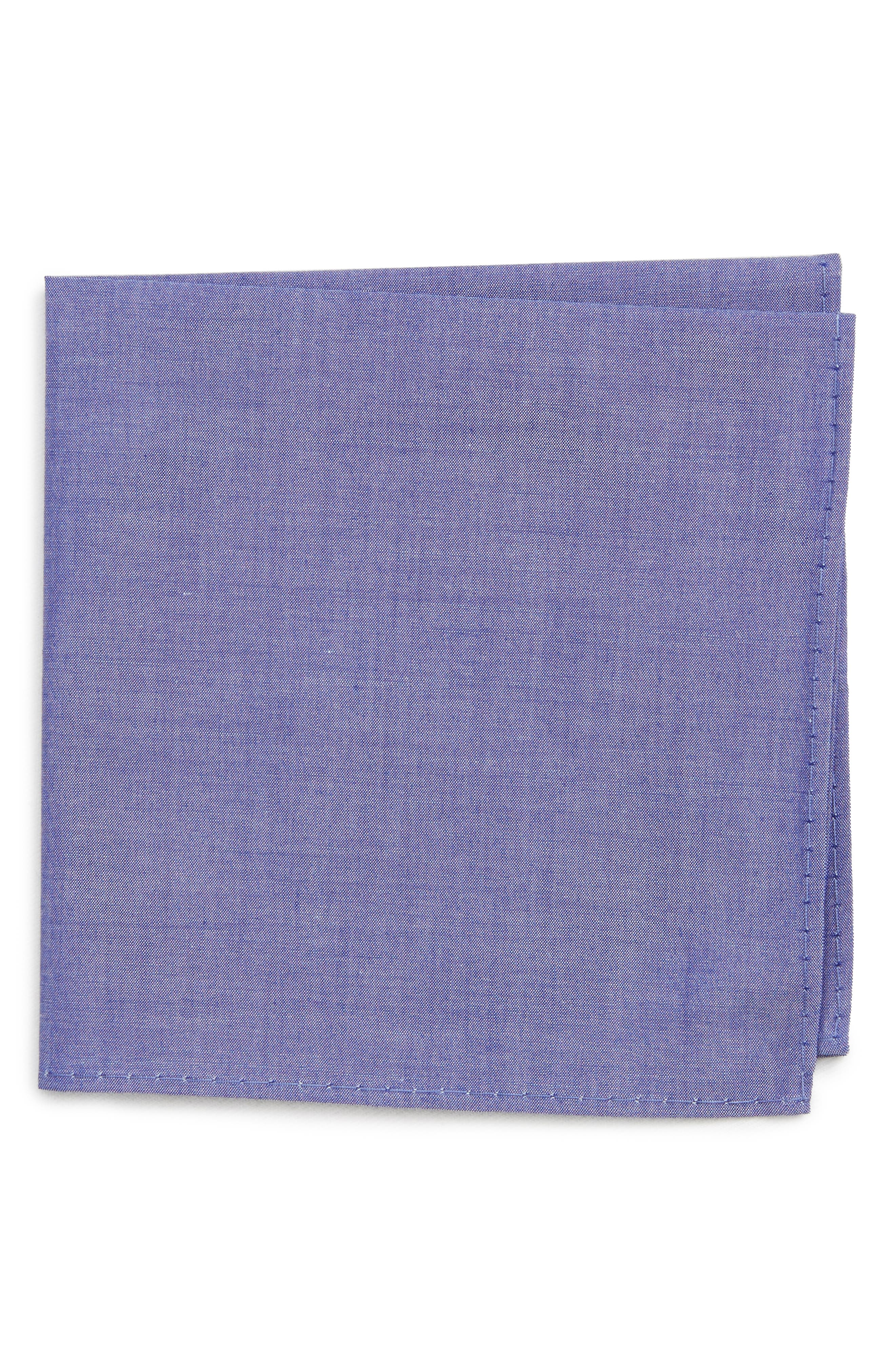NORDSTROM Chambray Pocket Square