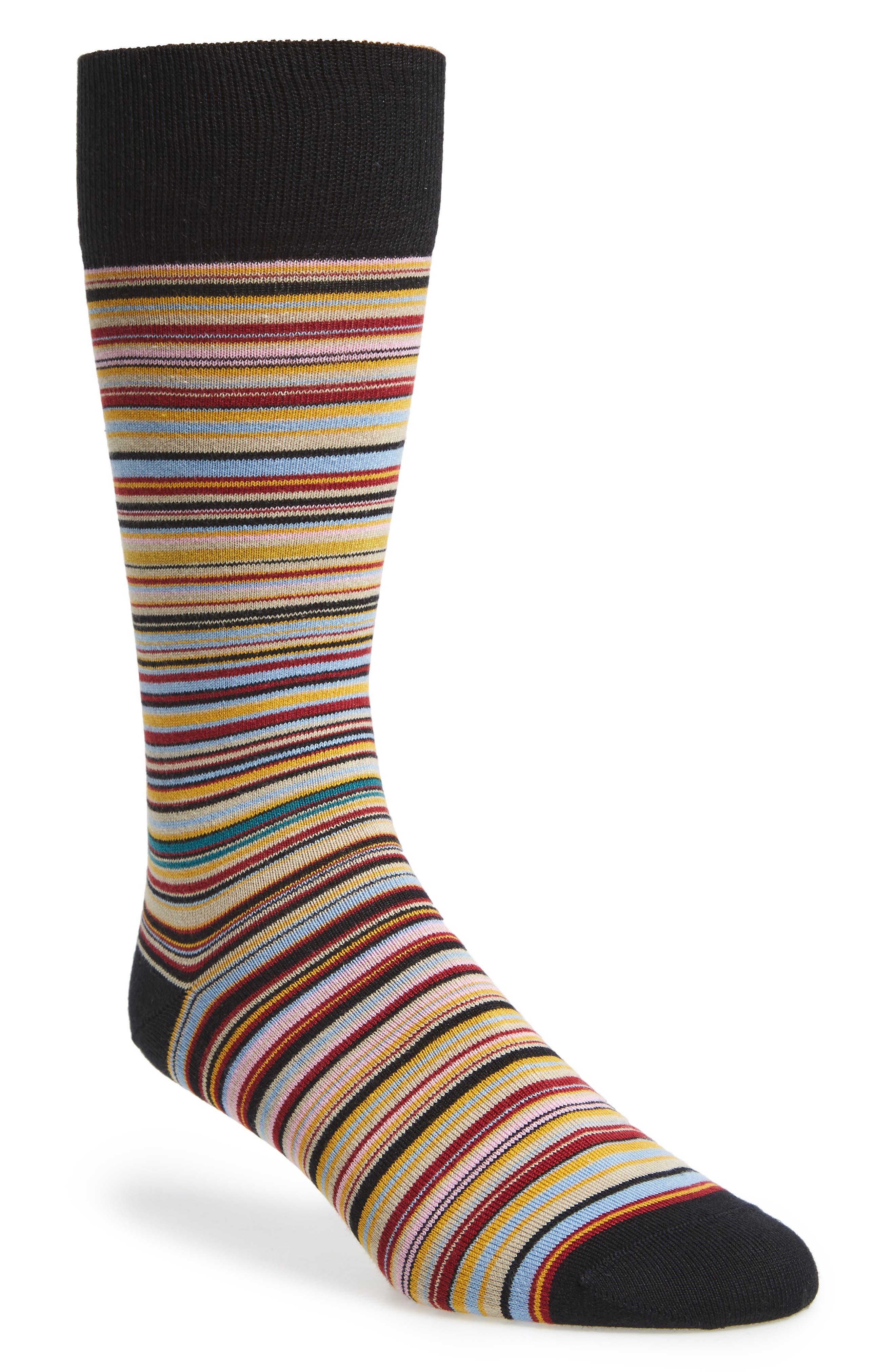 Alternate Image 1 Selected - Paul Smith Stripe Socks
