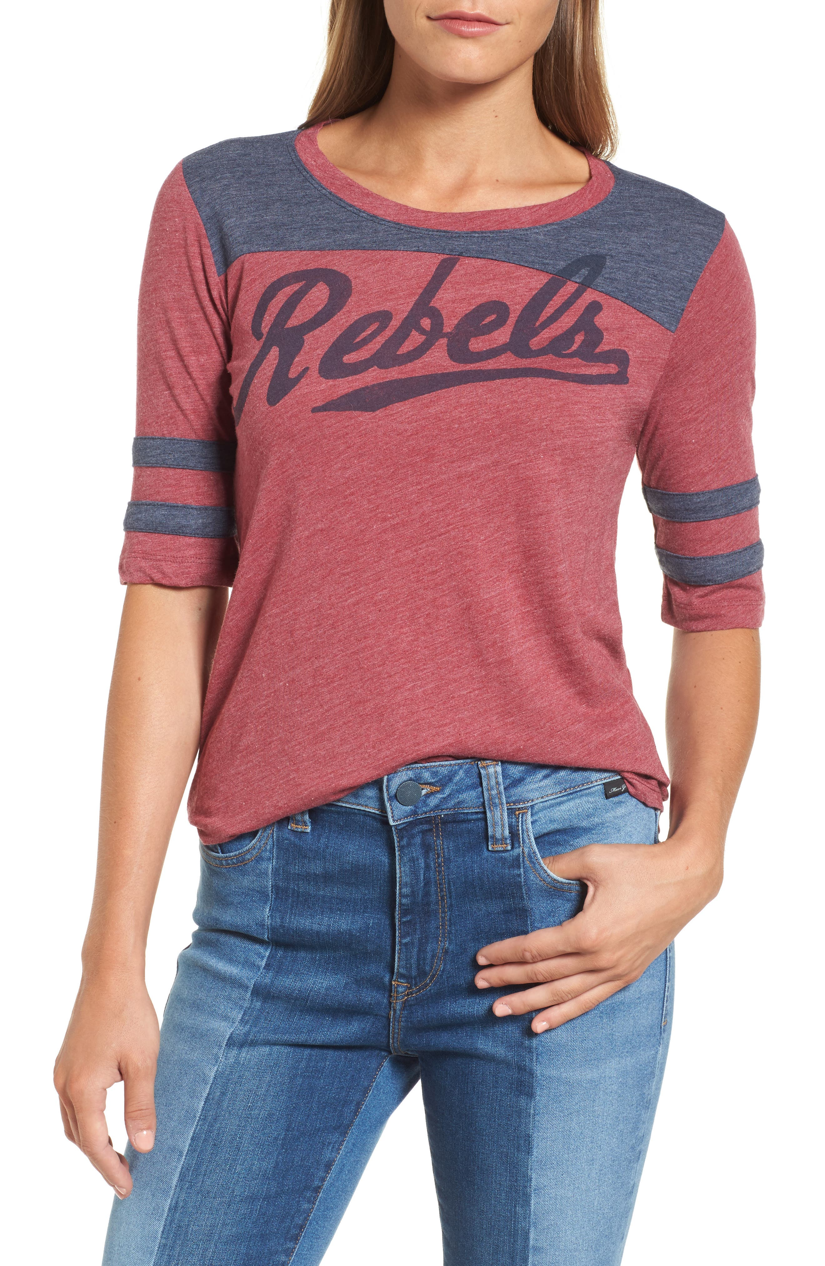 LUCKY BRAND Rebels Football Tee
