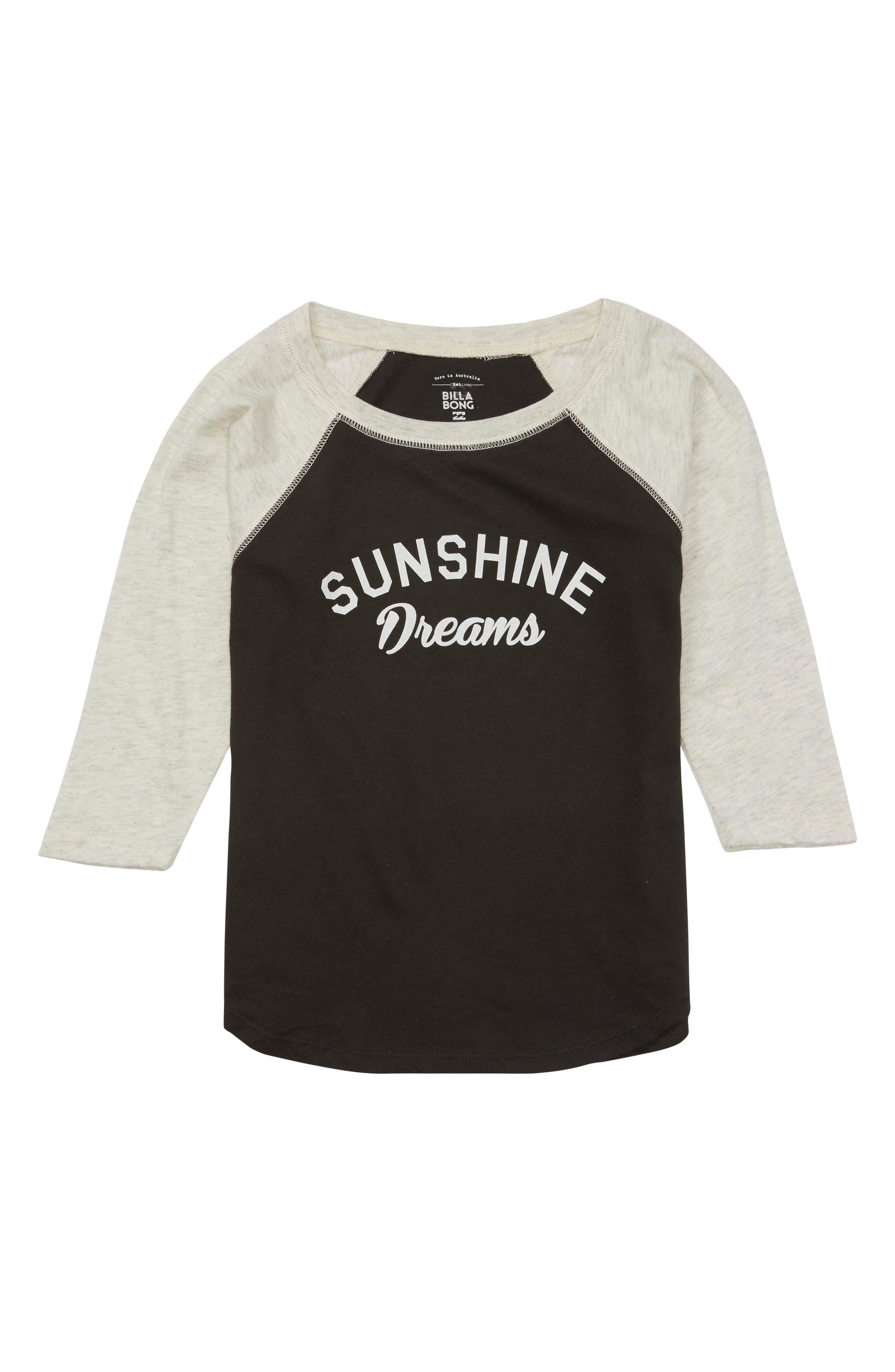 Billabong Sunshine Dreams Graphic Tee (Little Girls & Big Girls)