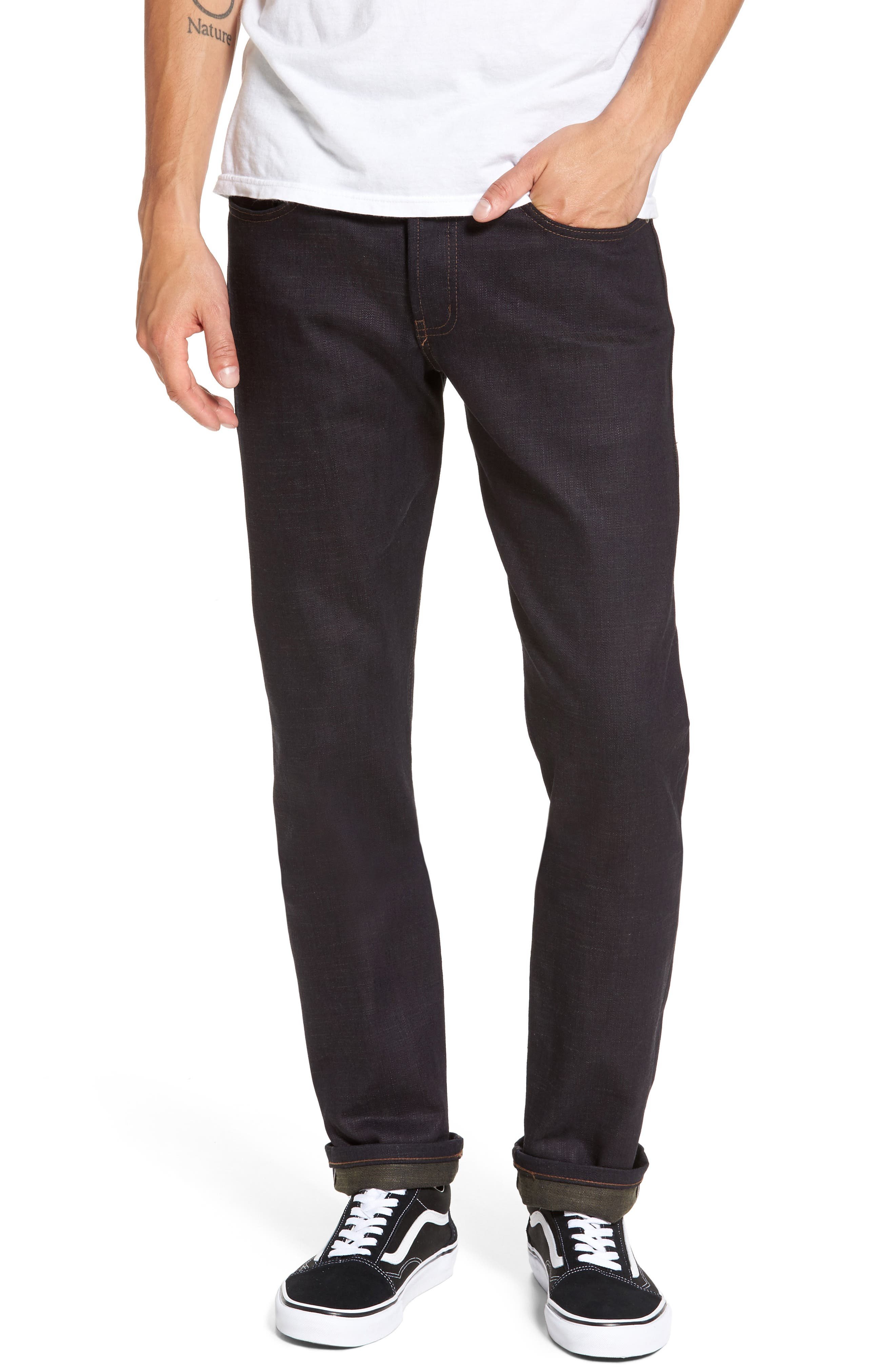 Weird Guy Slim Fit Jeans,                         Main,                         color, Green