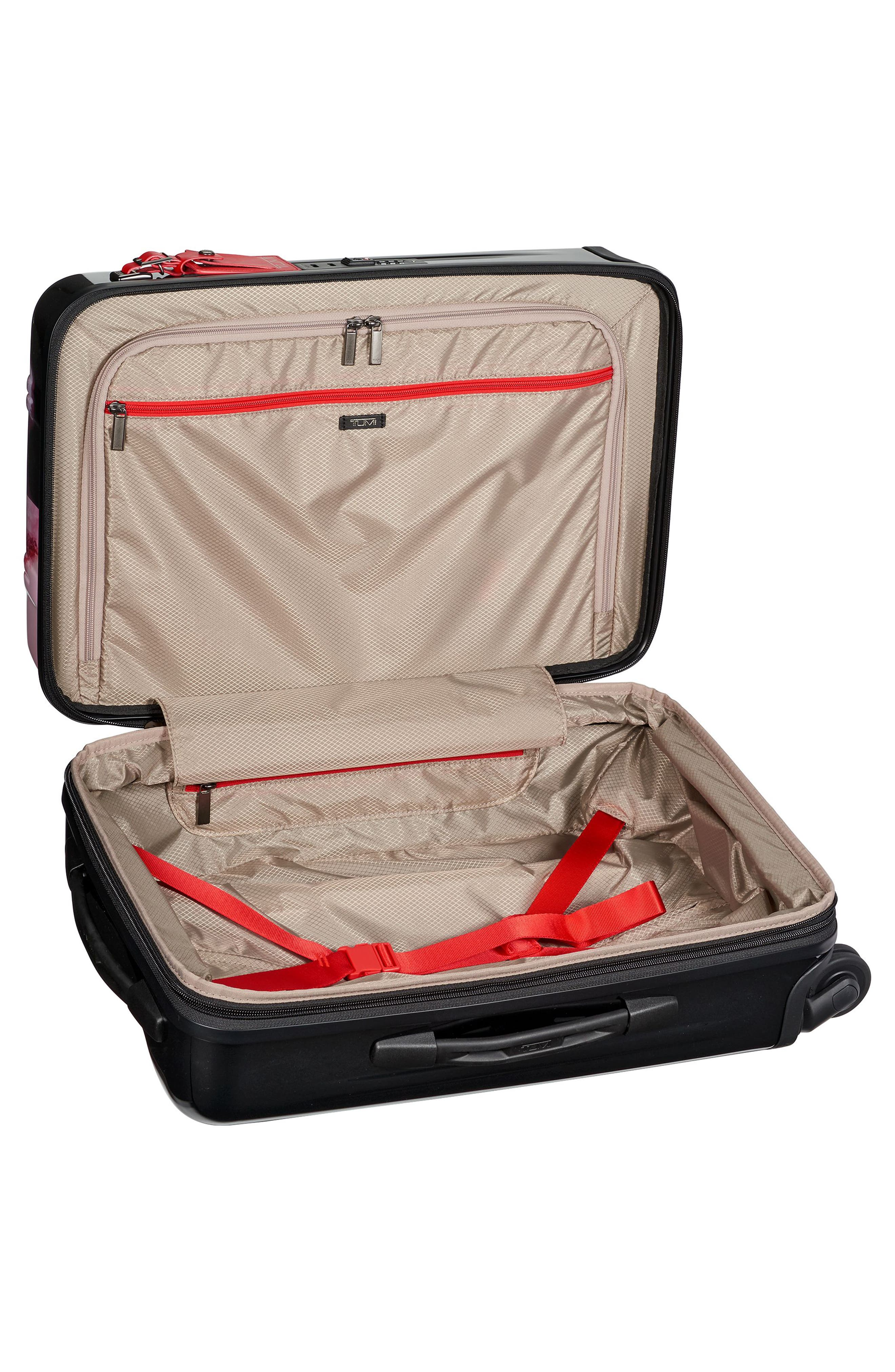 V3 International 22-Inch Expandable Wheeled Carry-On,                             Alternate thumbnail 2, color,                             Gallery Floral