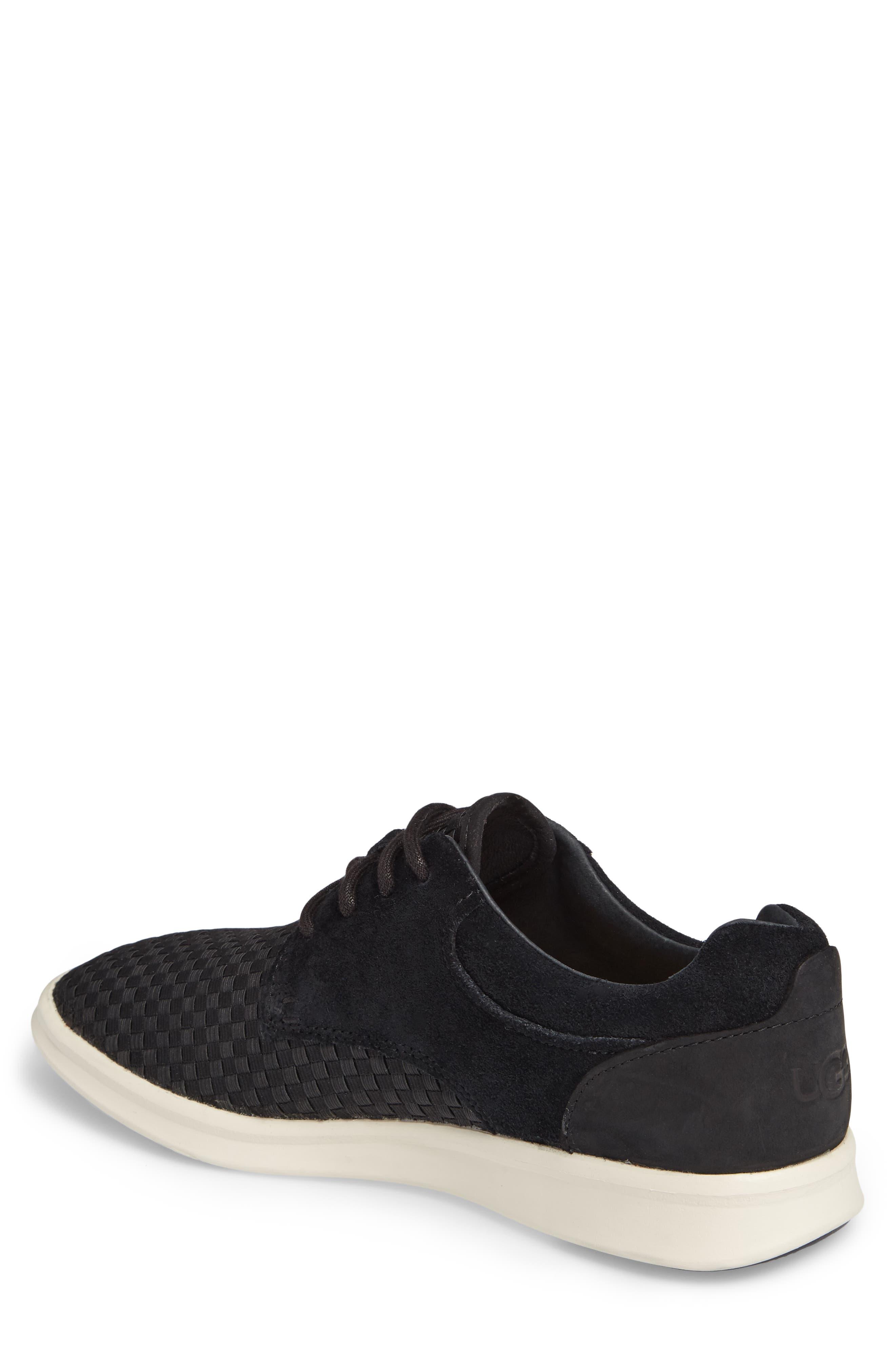 'Hepner' Woven Sneaker,                             Alternate thumbnail 2, color,                             Blk