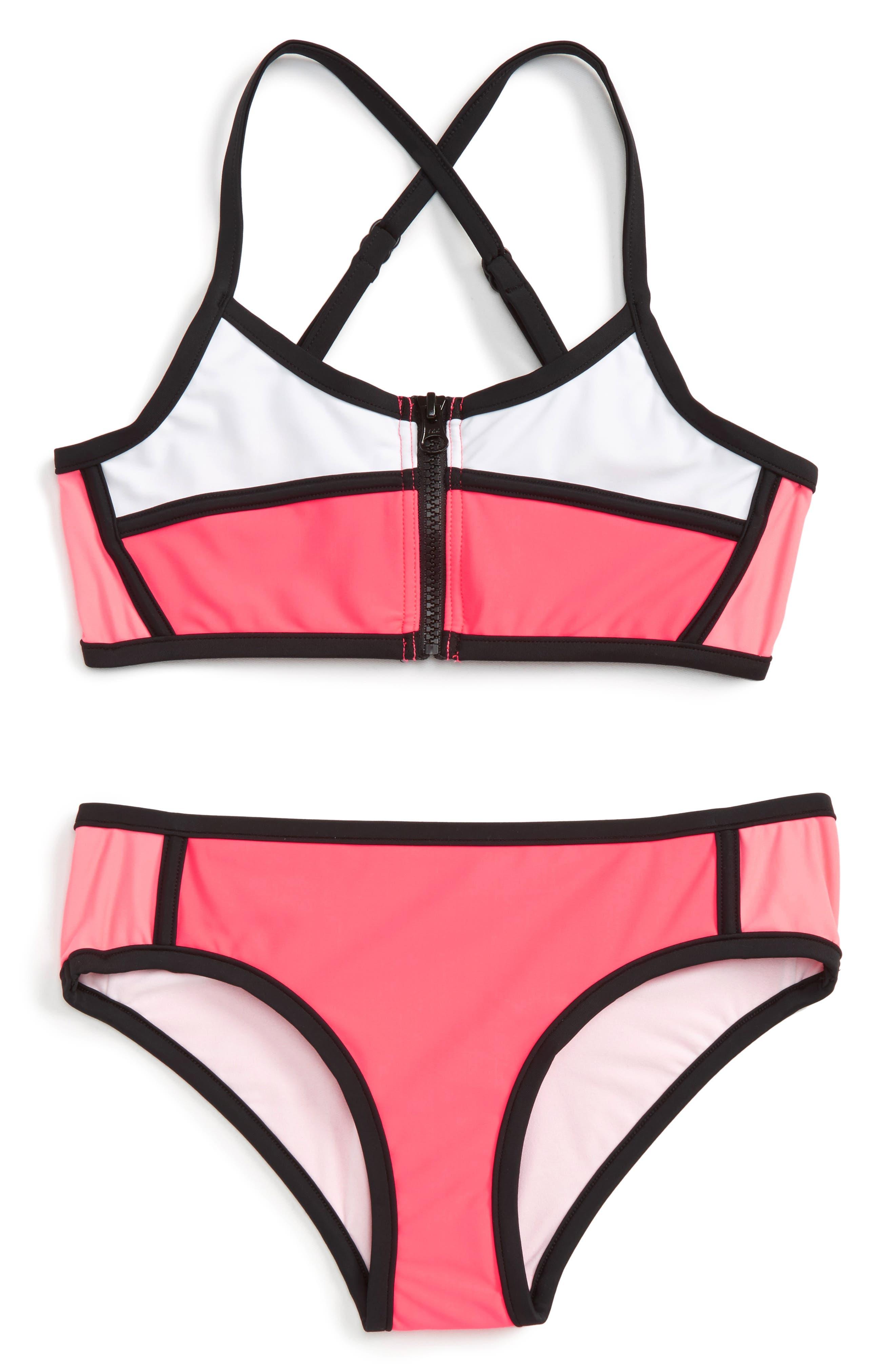 Seafolly Sapphire Coast Two-Piece Swimsuit (Big Girls)