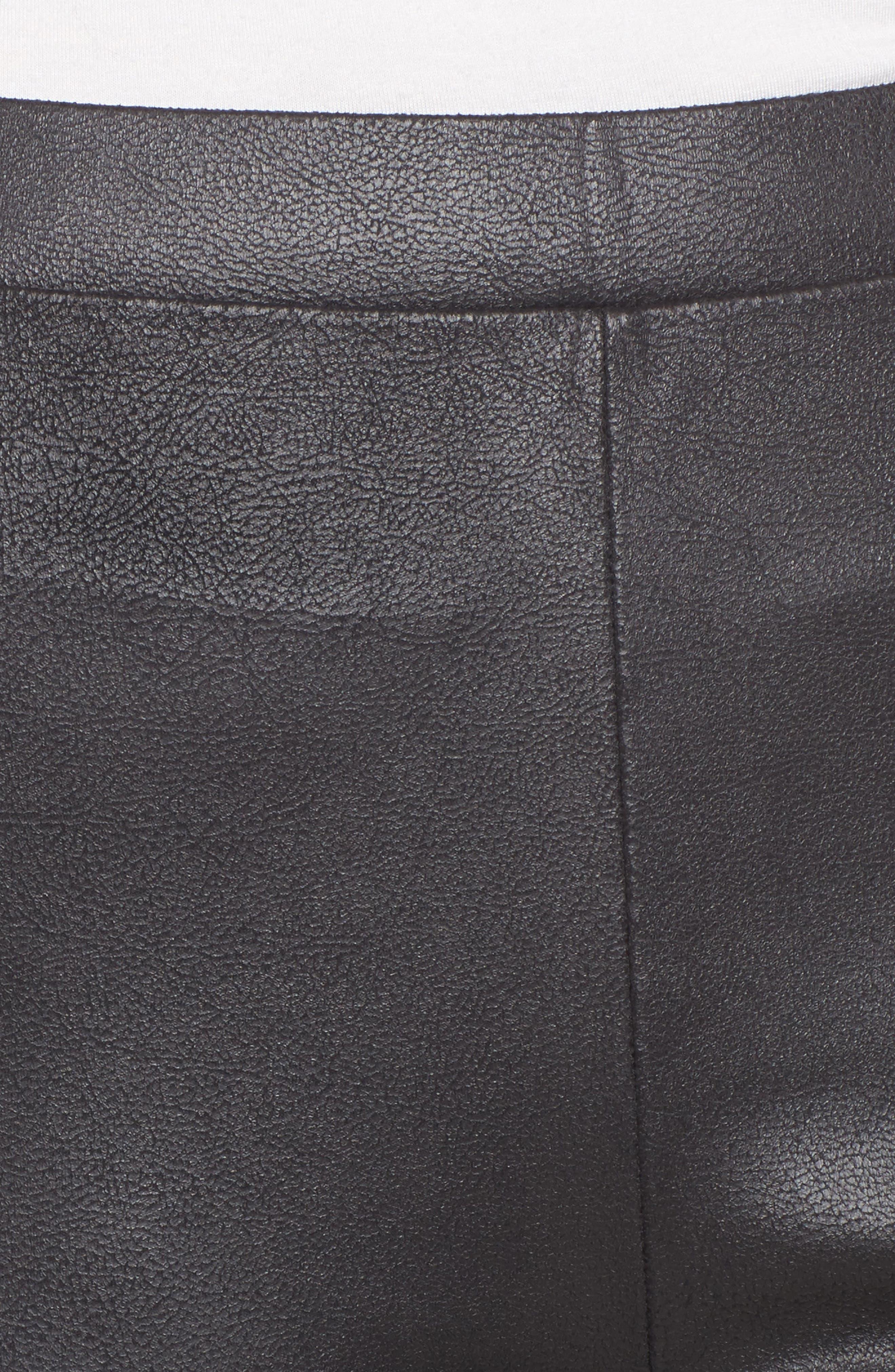 Alternate Image 4  - Trouvé High Waist Faux Leather Leggings
