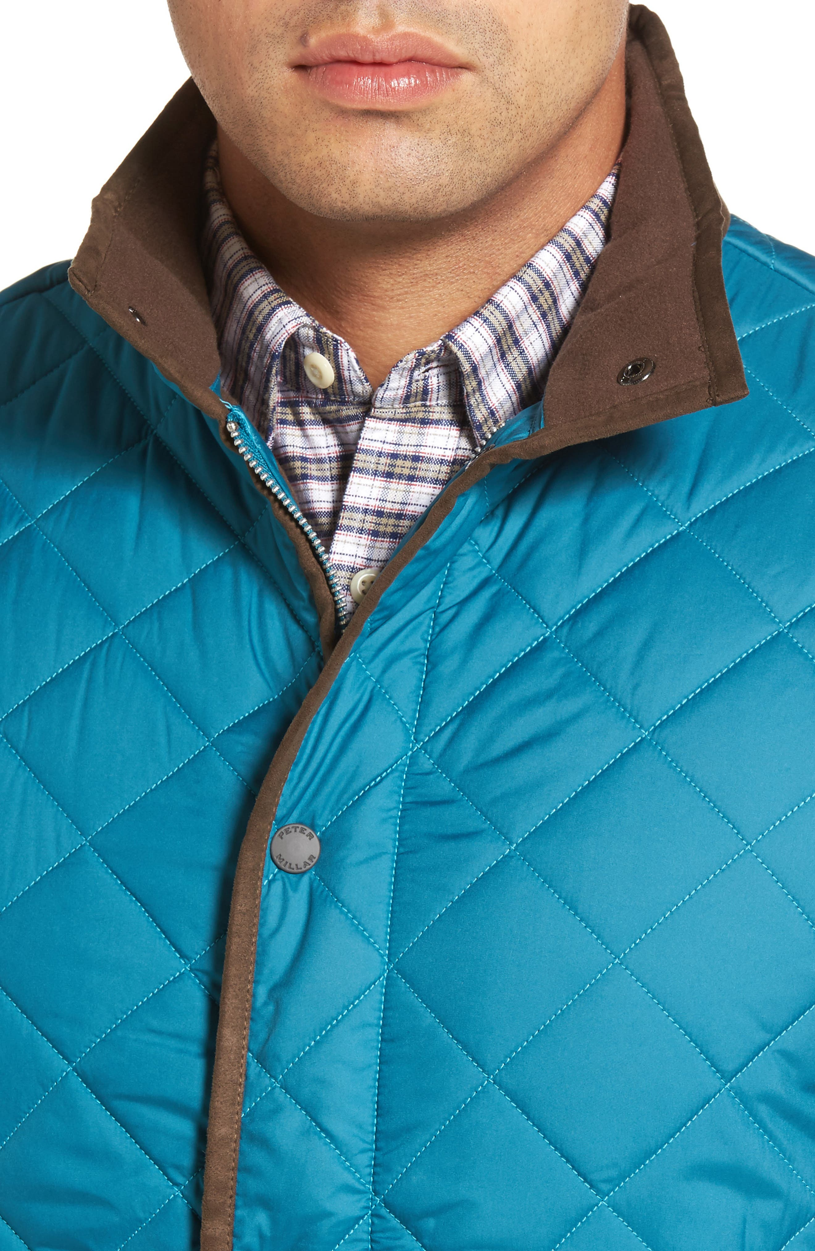 Alternate Image 4  - Peter Millar Essex Quilted Vest