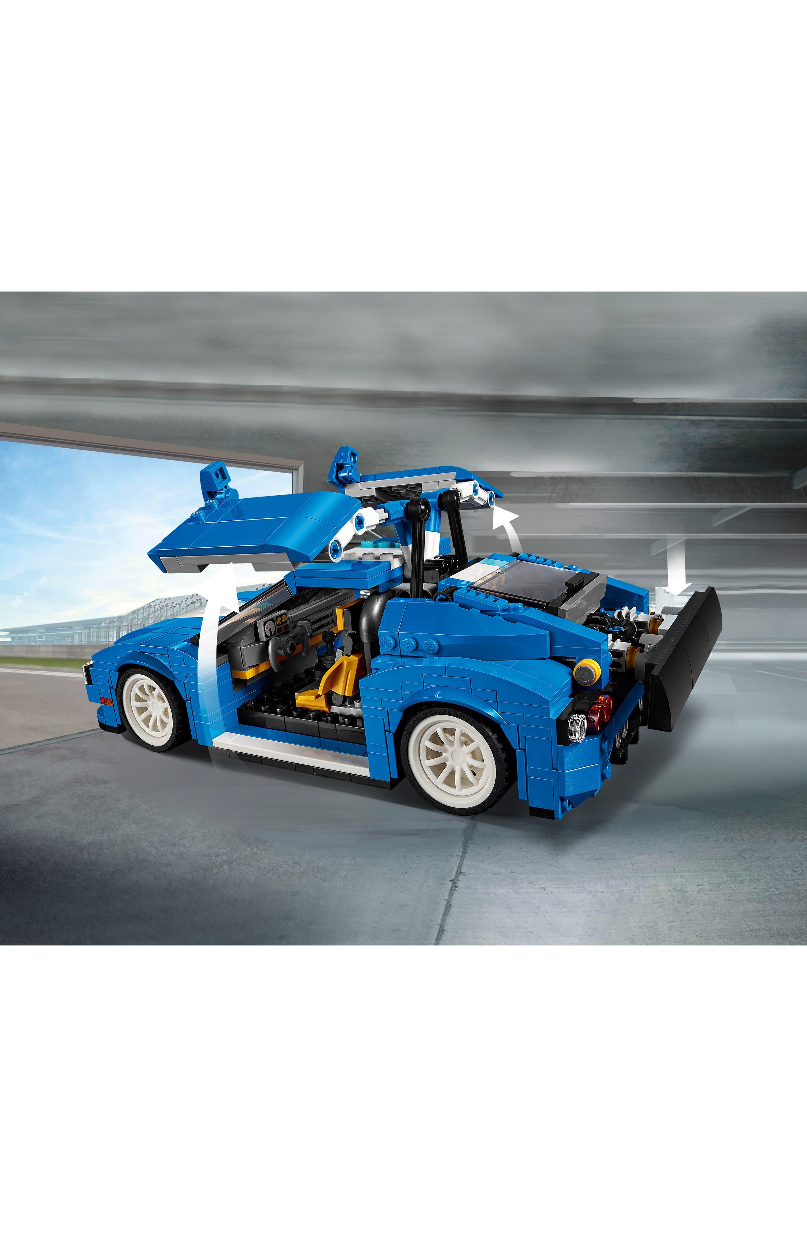 Alternate Image 2  - LEGO® Creator 3-in-1 Turbo Track Racer - 31070