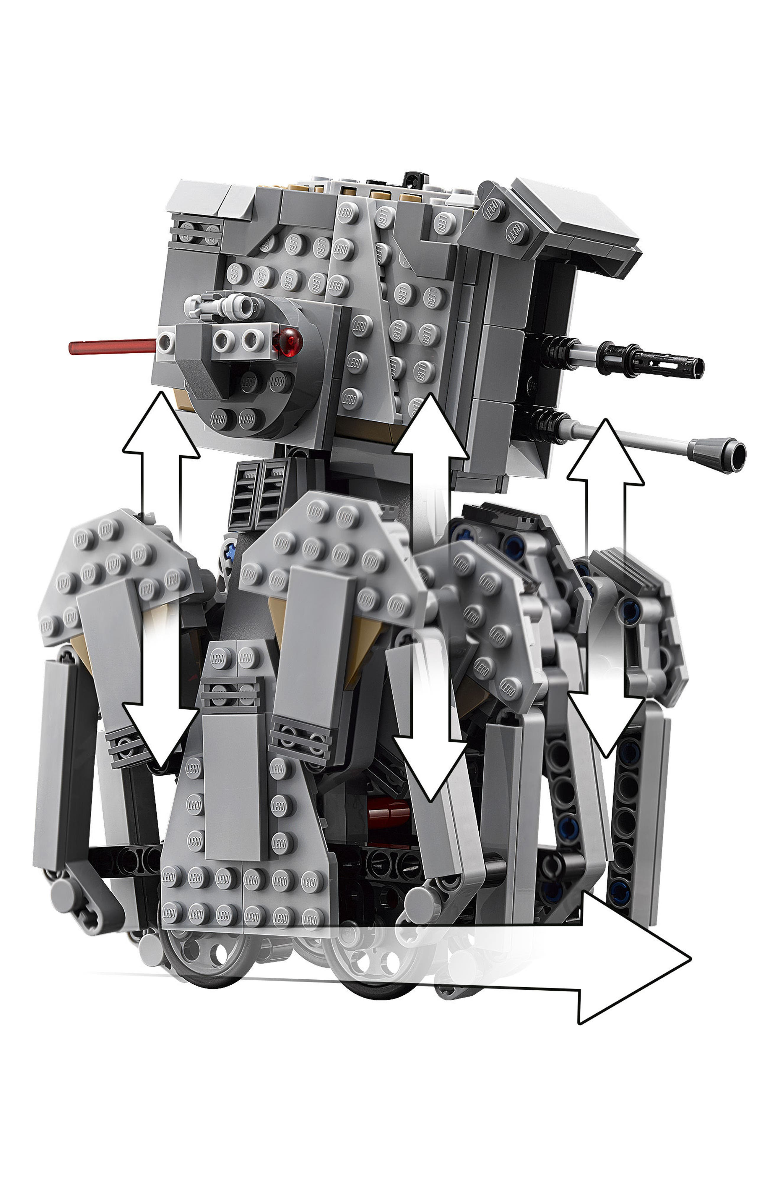 Star Wars<sup>™</sup> First Order Heavy Scout Walker - 75177,                             Alternate thumbnail 4, color,                             Multi