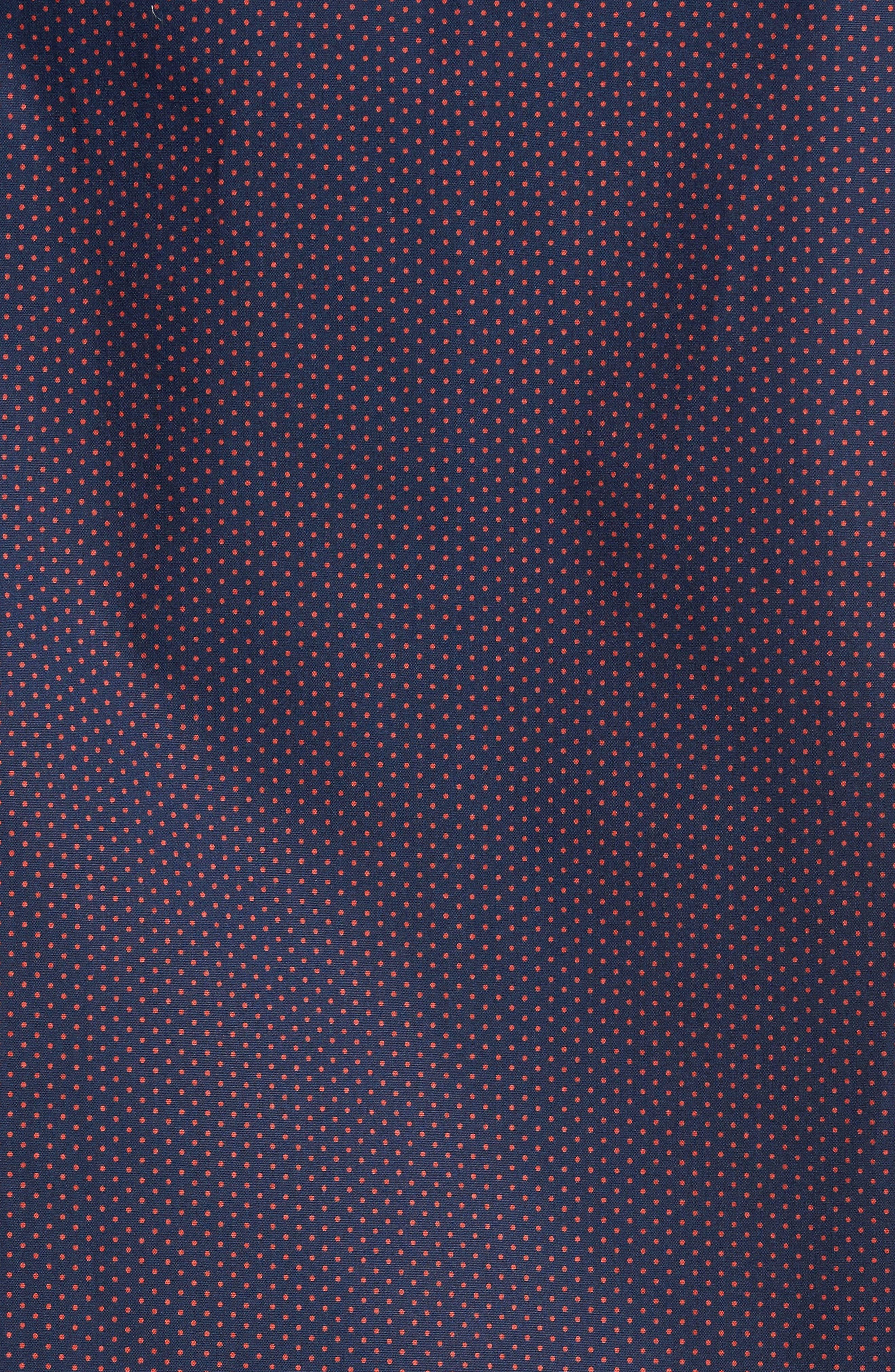 Alternate Image 5  - Jeff Arlington Slim Fit Print Sport Shirt