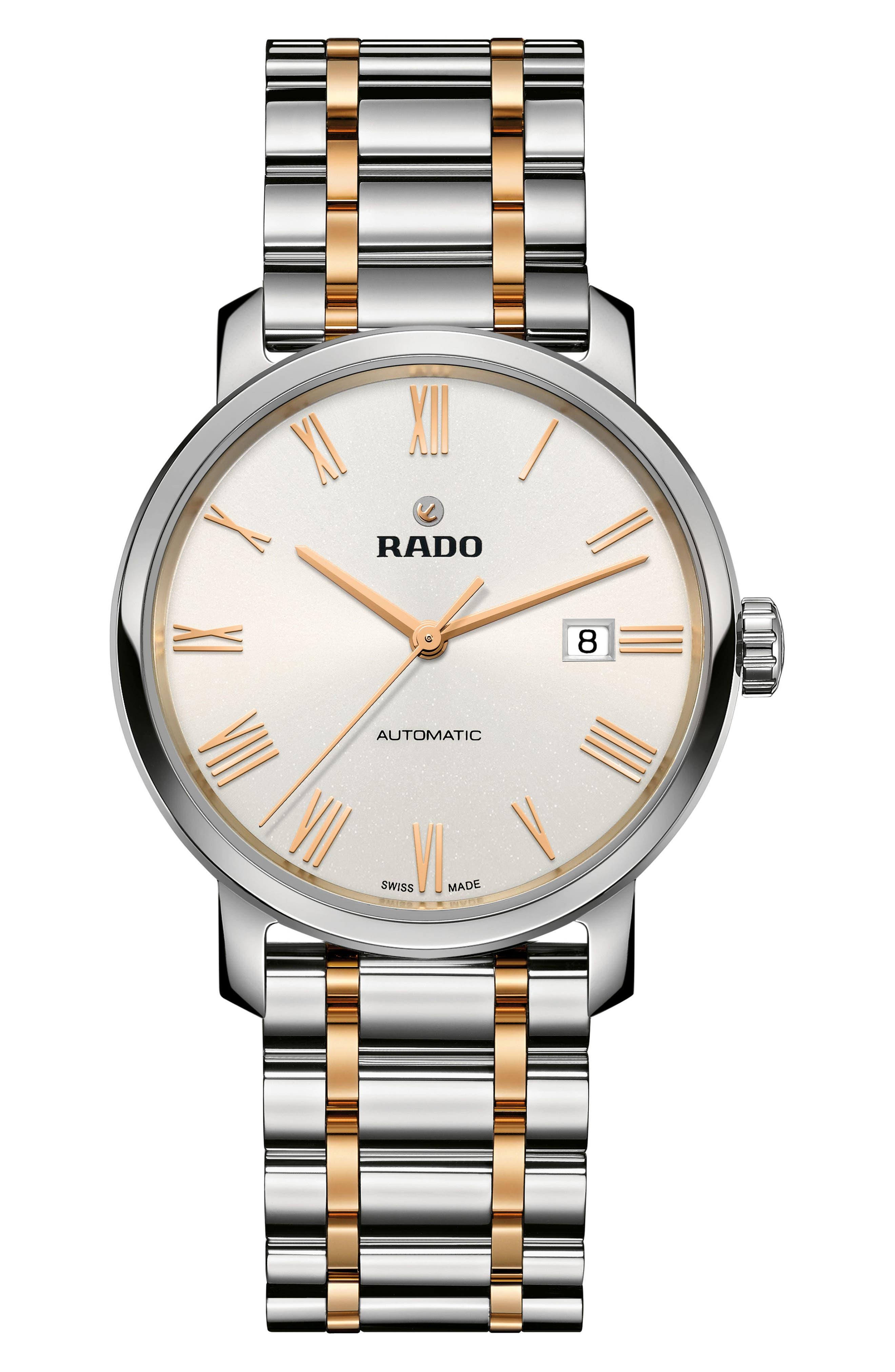 Main Image - RADO DiaMaster Automatic Bracelet Watch, 41mm