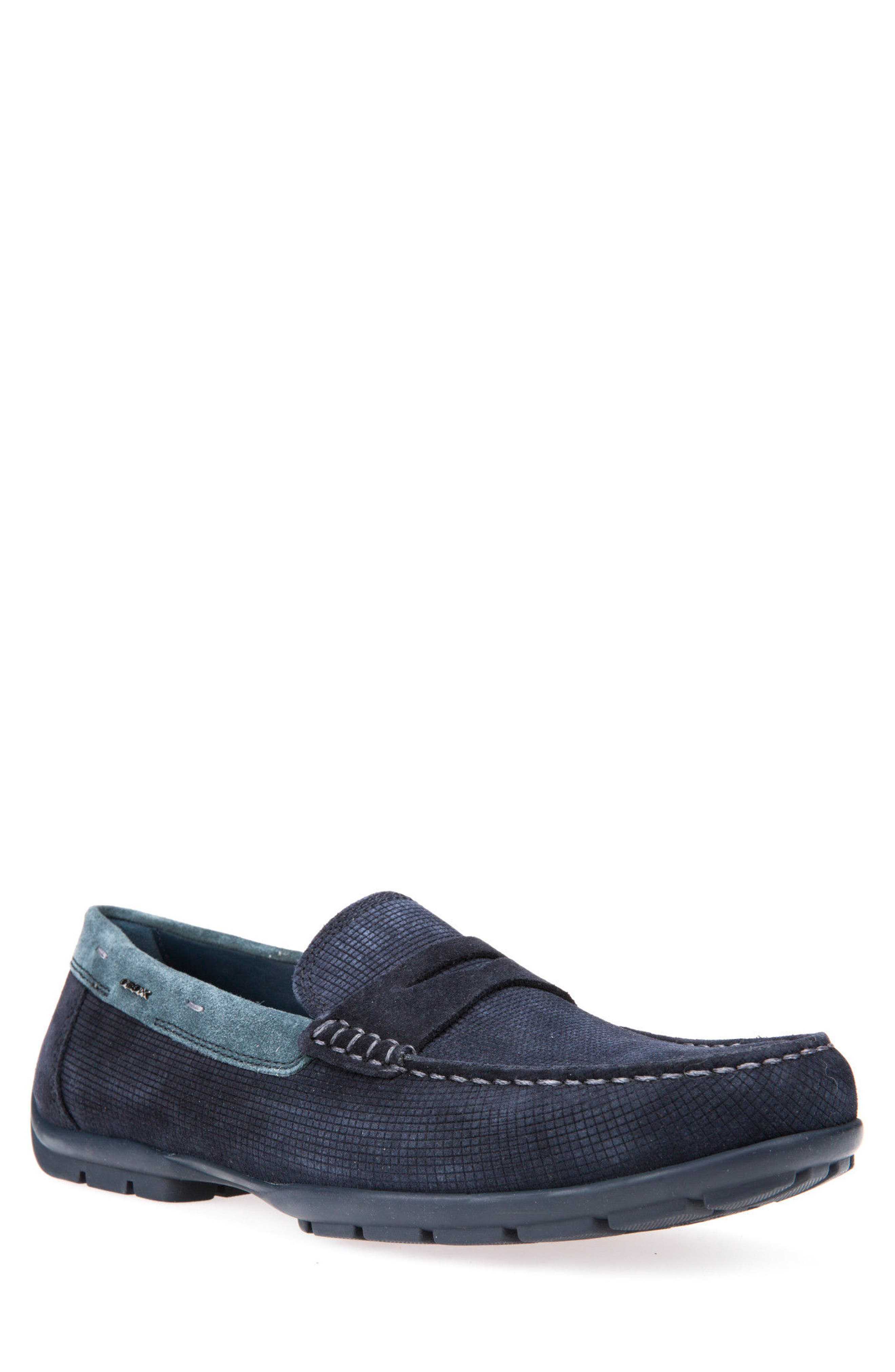 Alternate Image 1 Selected - Geox Monet W 2Fit Driving Moccasin (Men)