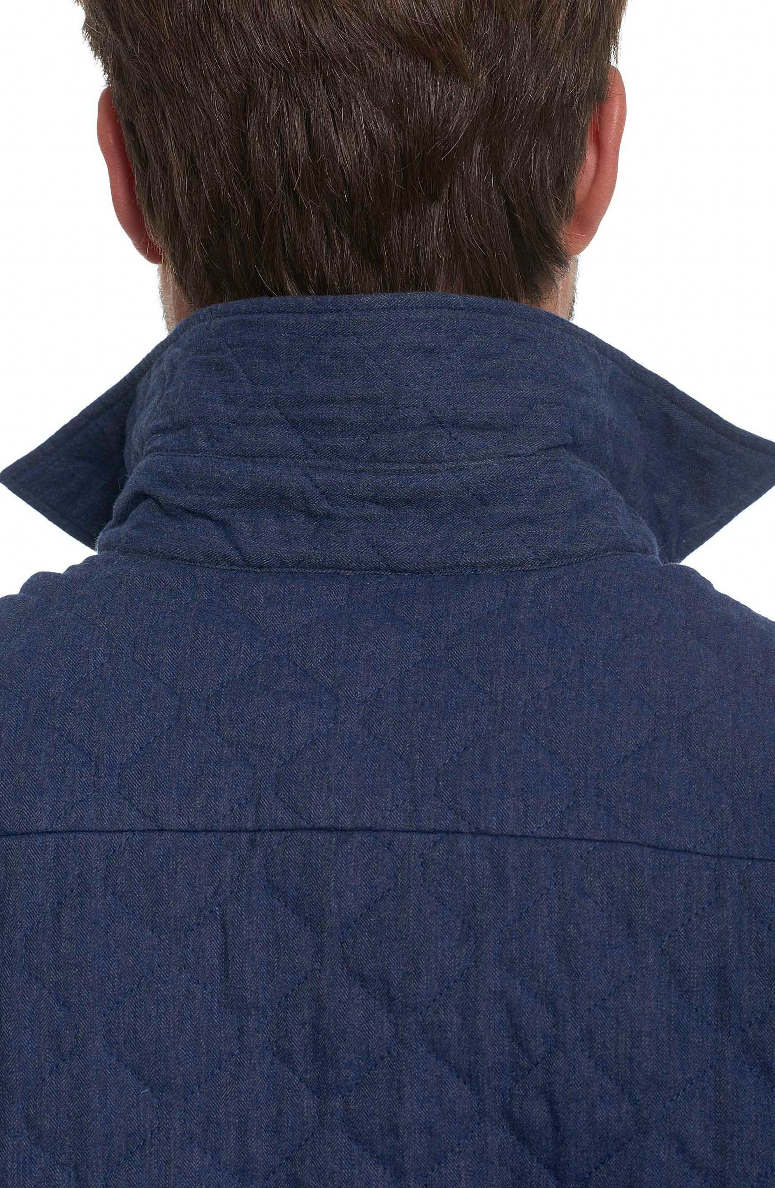 Alternate Image 4  - Robert Graham Lance Quilted Shirt Jacket