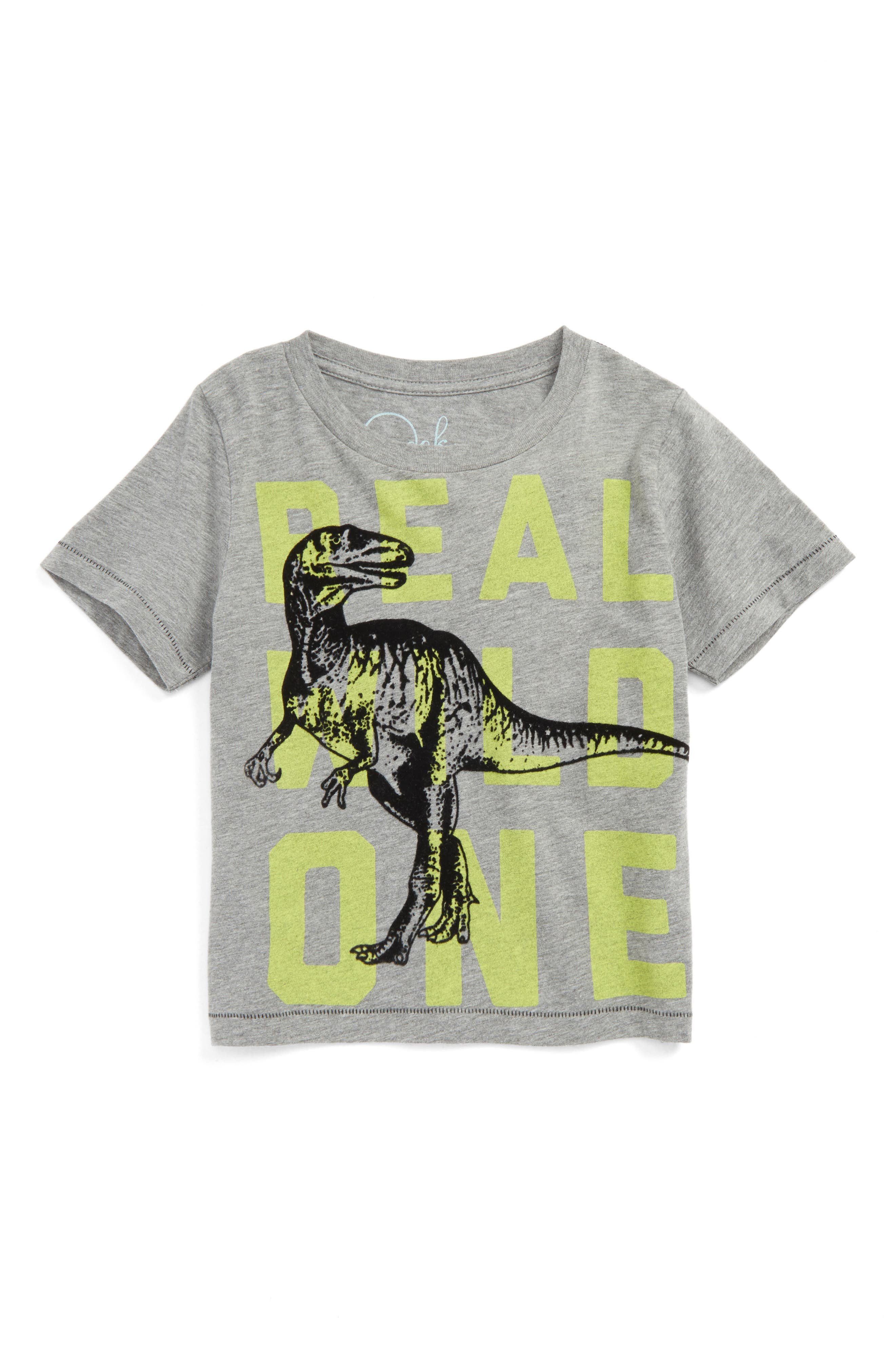 Alternate Image 1 Selected - Peek Real Wild One T-Shirt (Toddler Boys, Little Boys & Big Boys)