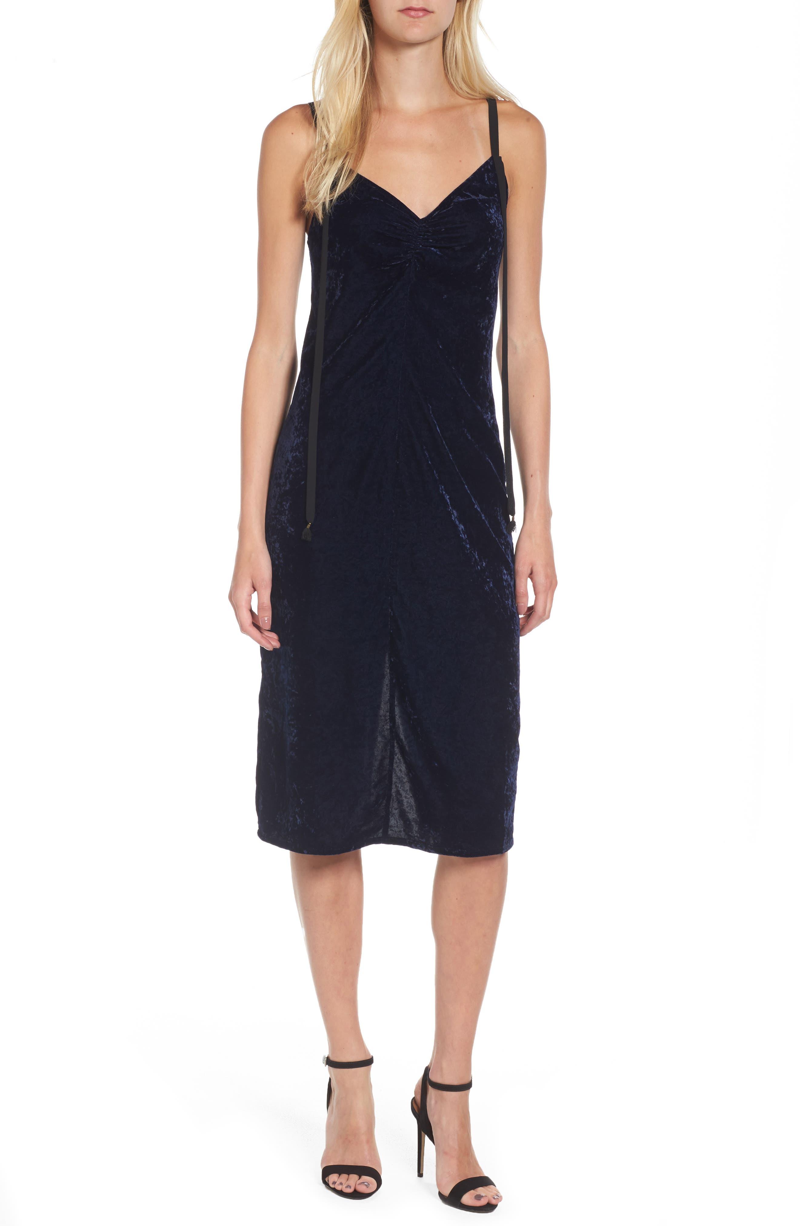 Ella Moss Serene Velvet Midi Dress