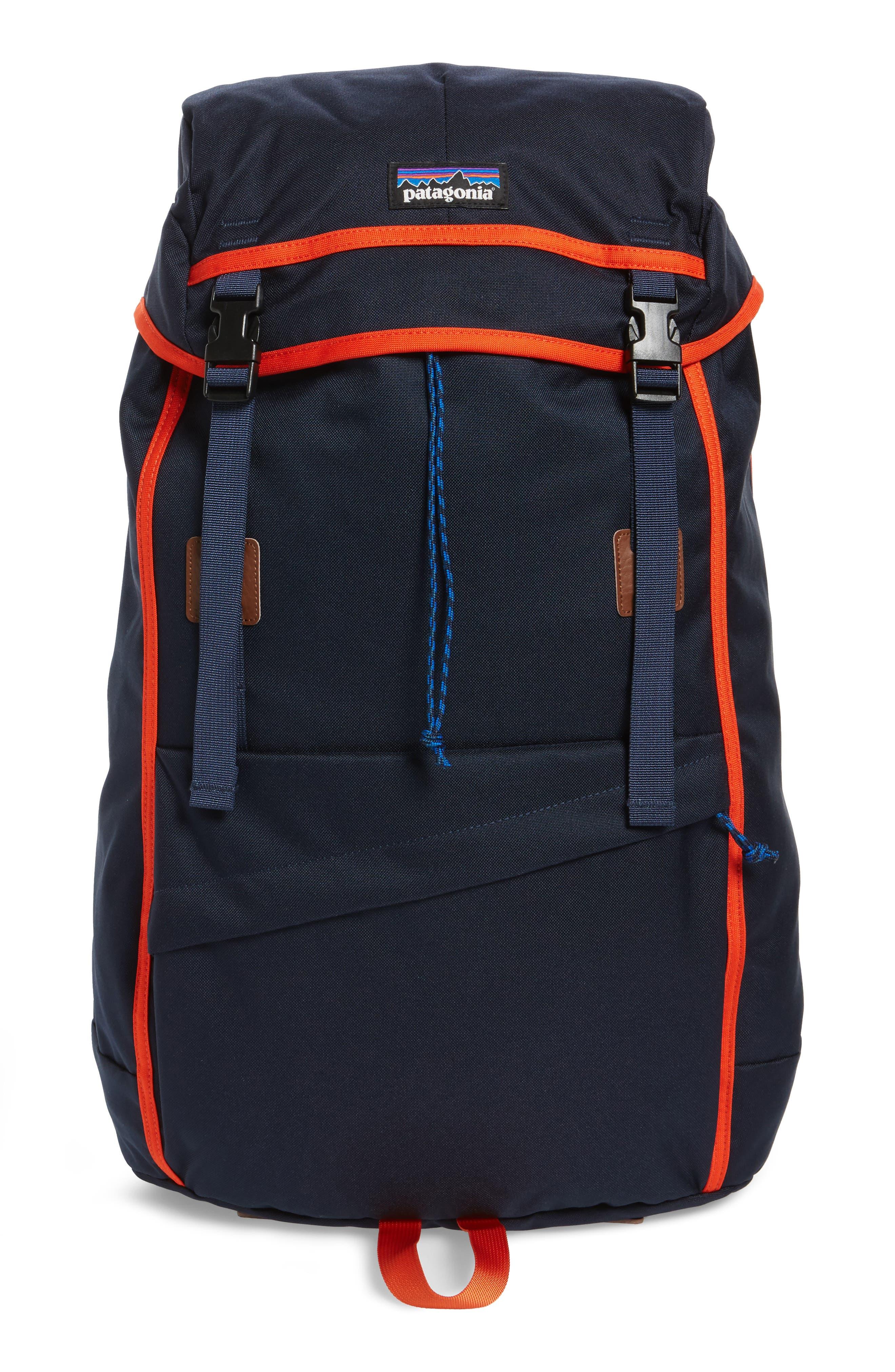 Arbor Grande 32-Liter Backpack,                         Main,                         color, Navy Blue/ Paintbrush Red
