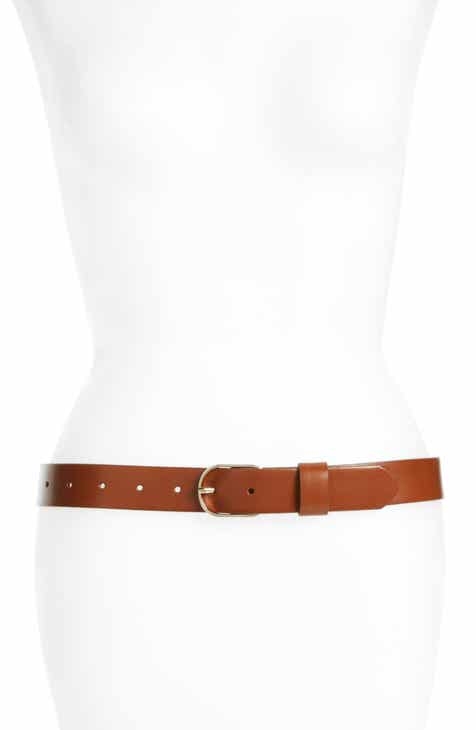 4d65992cc3b Halogen® Tailored Trouser Leather Belt (Regular   Plus Size)