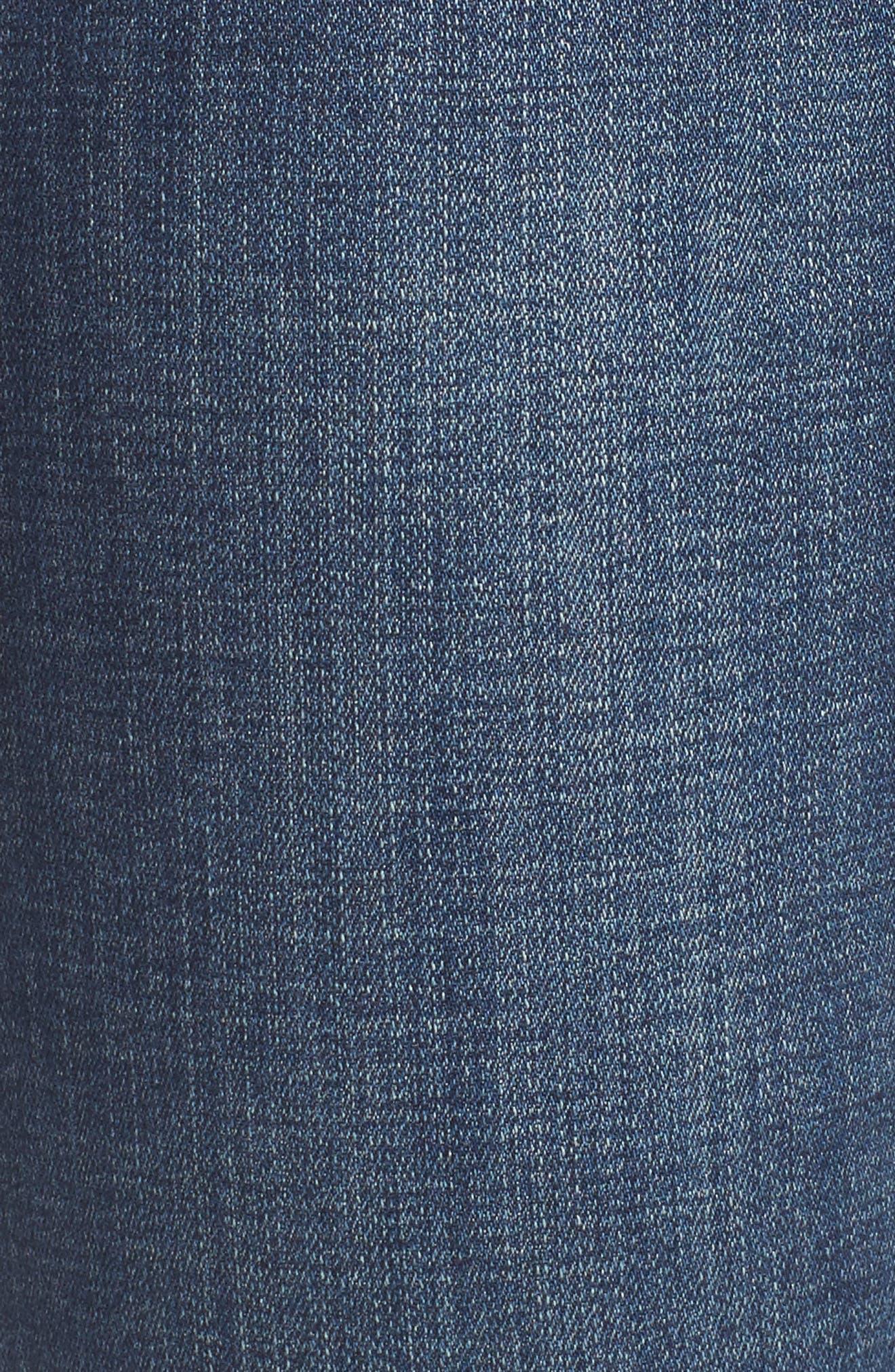 Adrian Straight Leg Jeans,                             Alternate thumbnail 5, color,                             Thorne Blue