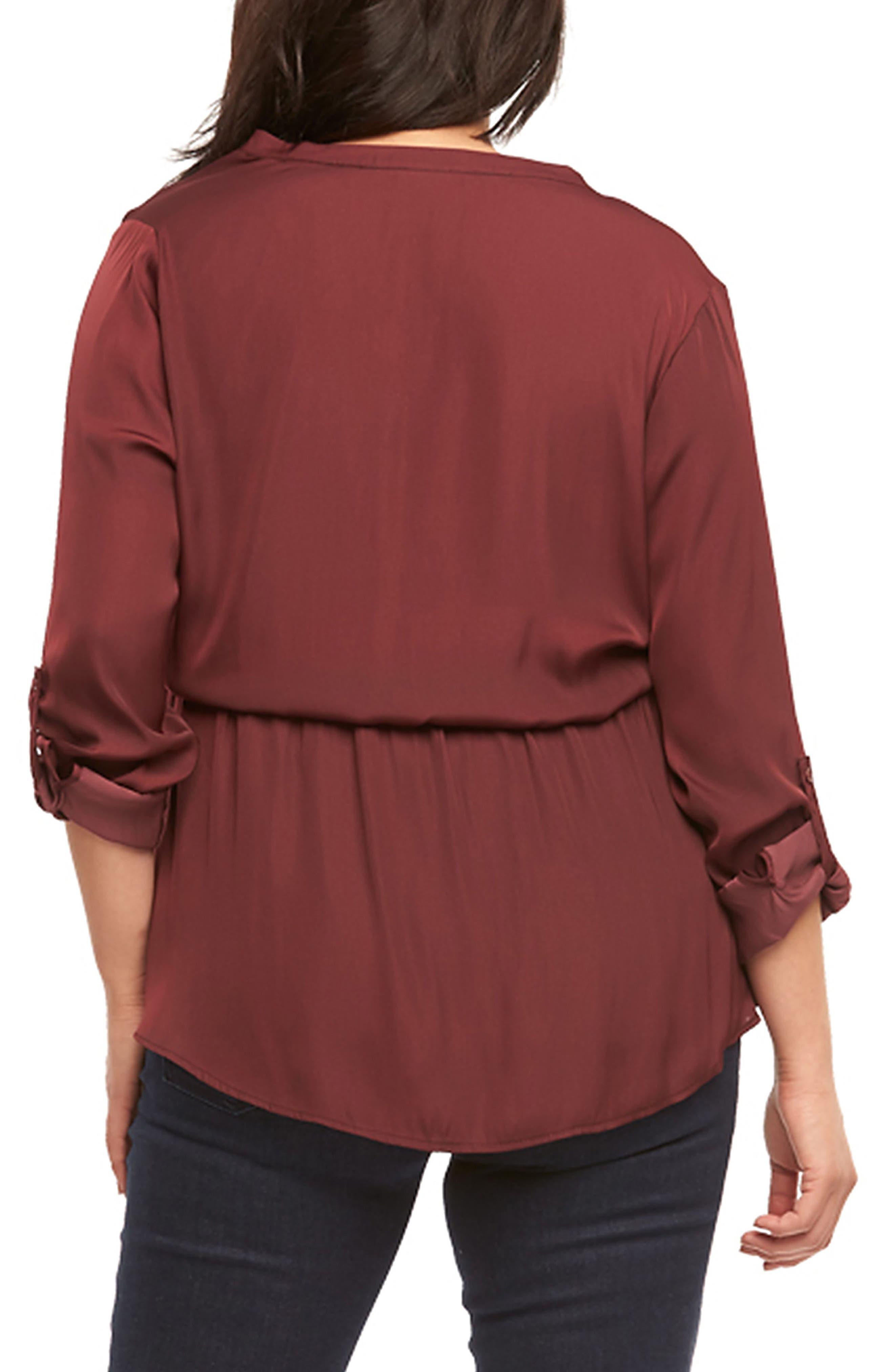 Alternate Image 2  - Tart Enna Drawstring Waist Tunic (Plus Size)