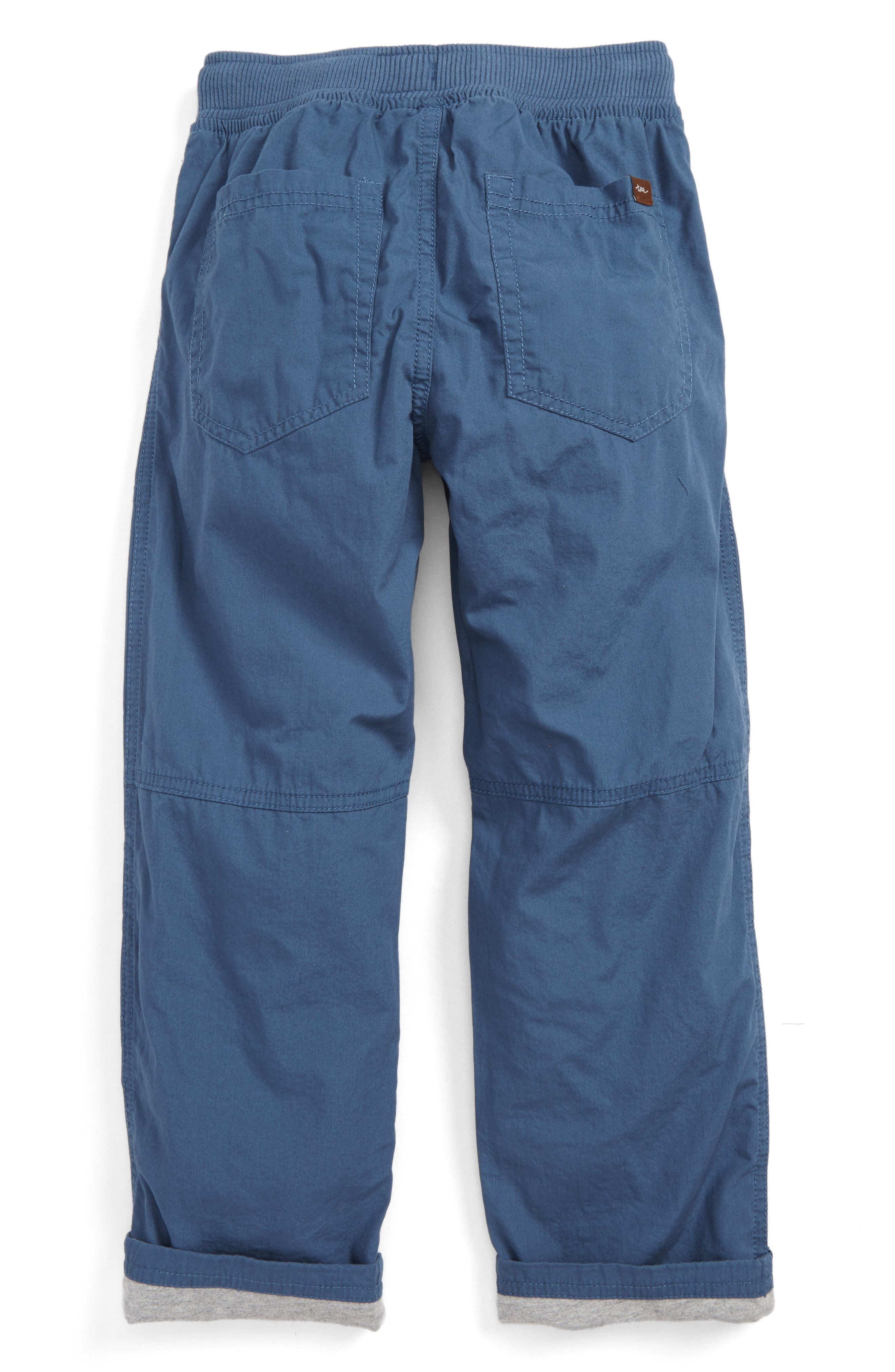 Jersey Lined Pants,                             Alternate thumbnail 2, color,                             Loch Blue