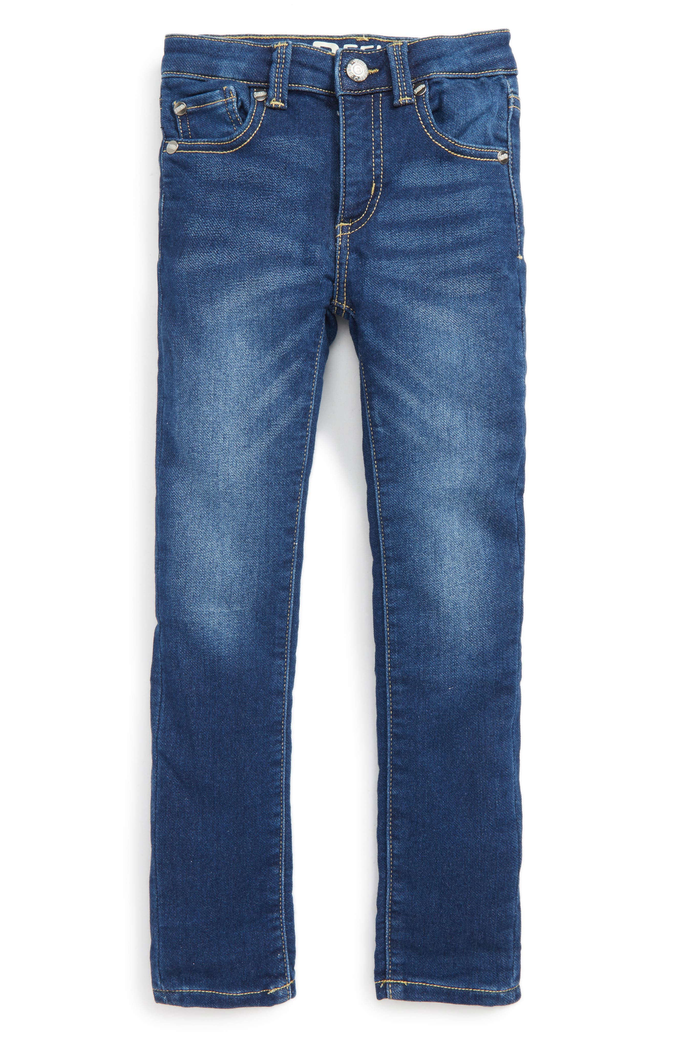 Taylor Skinny Jeans,                         Main,                         color, Med Authentic