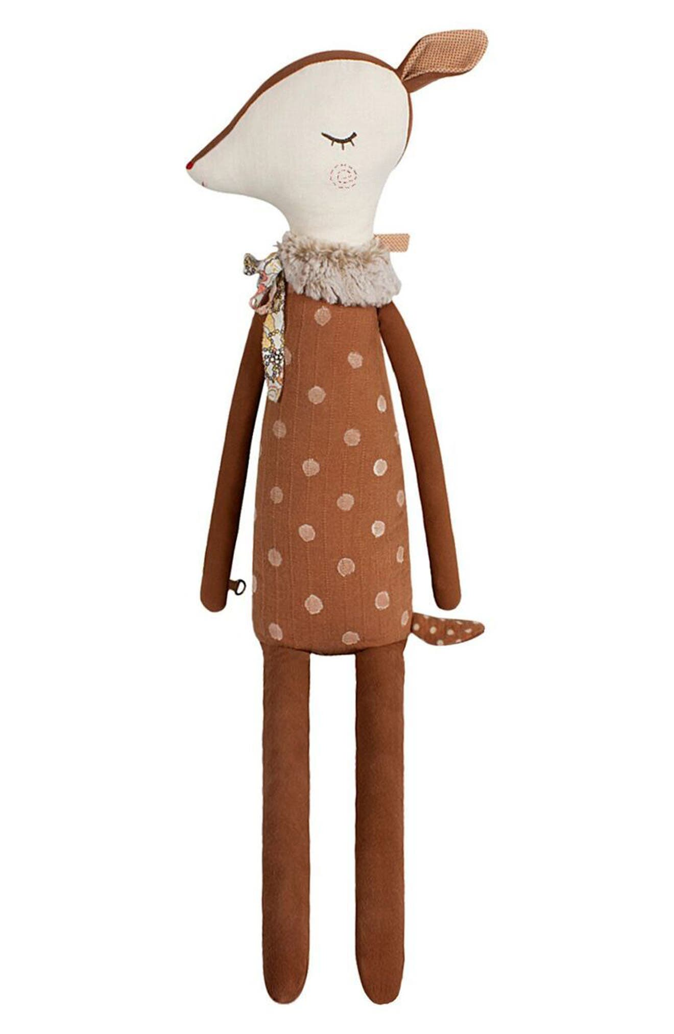 Maileg Sleepy-Wakey Deer Stuffed Animal