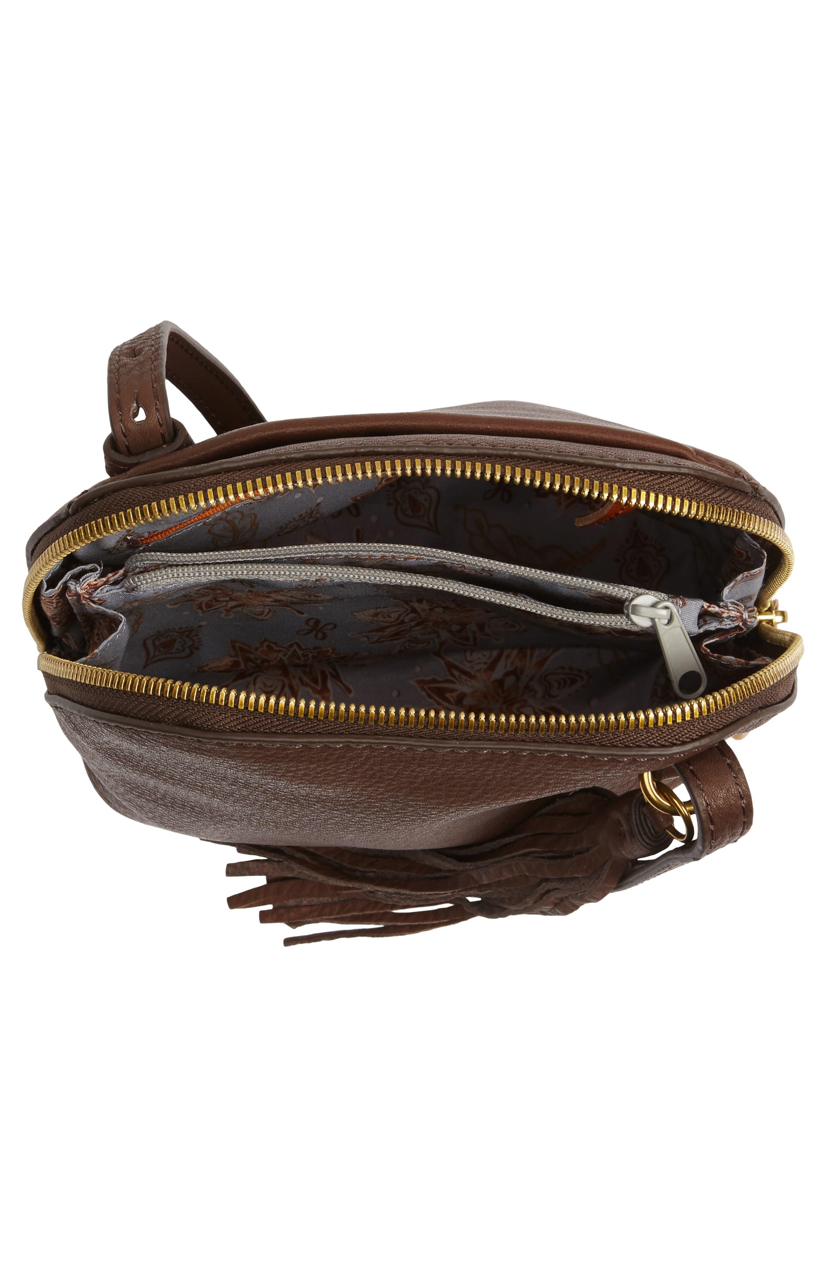 Alternate Image 3  - Hobo Nash Calfskin Leather Crossbody Bag