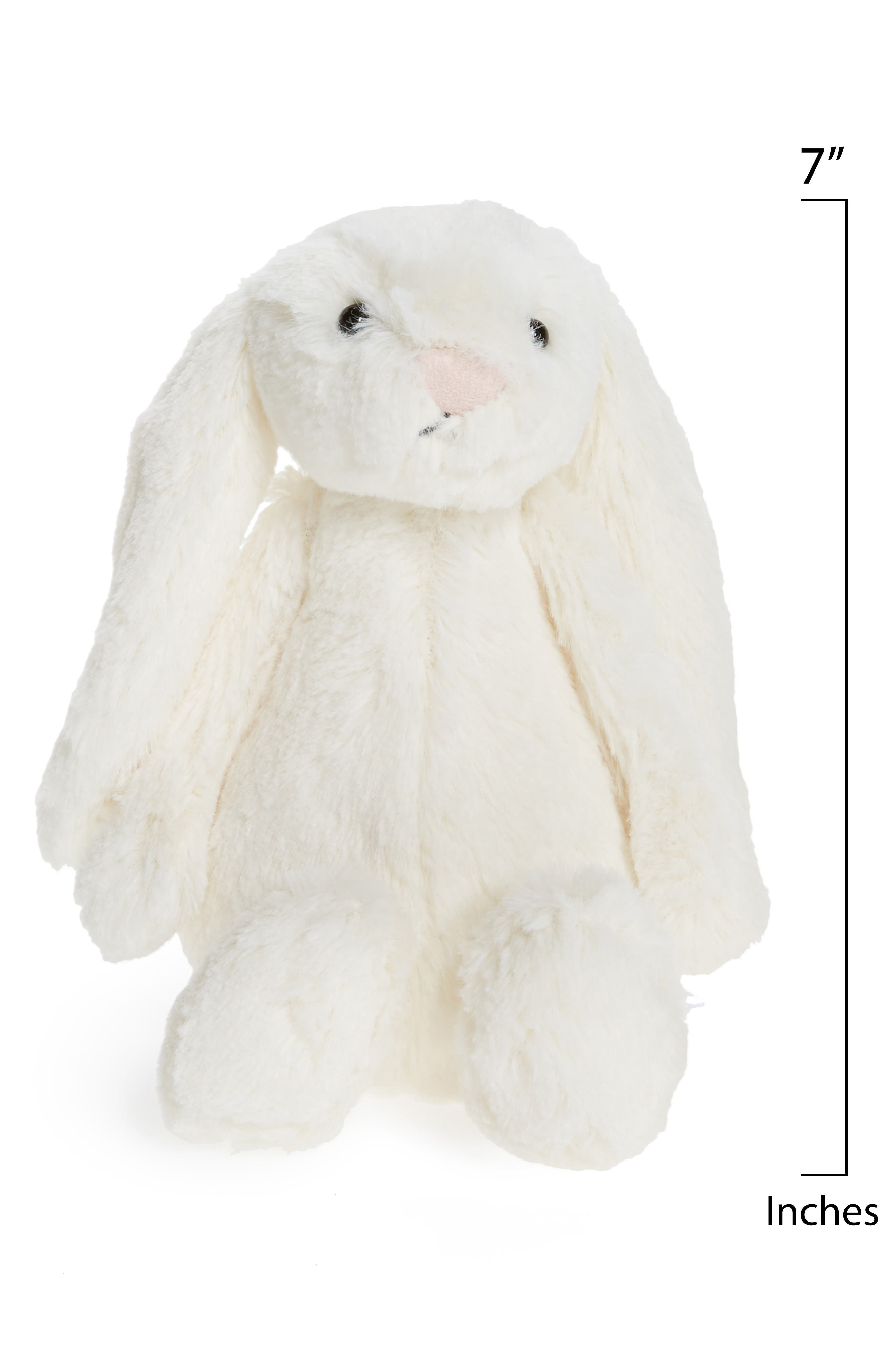 'Small Bashful Bunny' Stuffed Animal,                             Alternate thumbnail 2, color,                             Cream