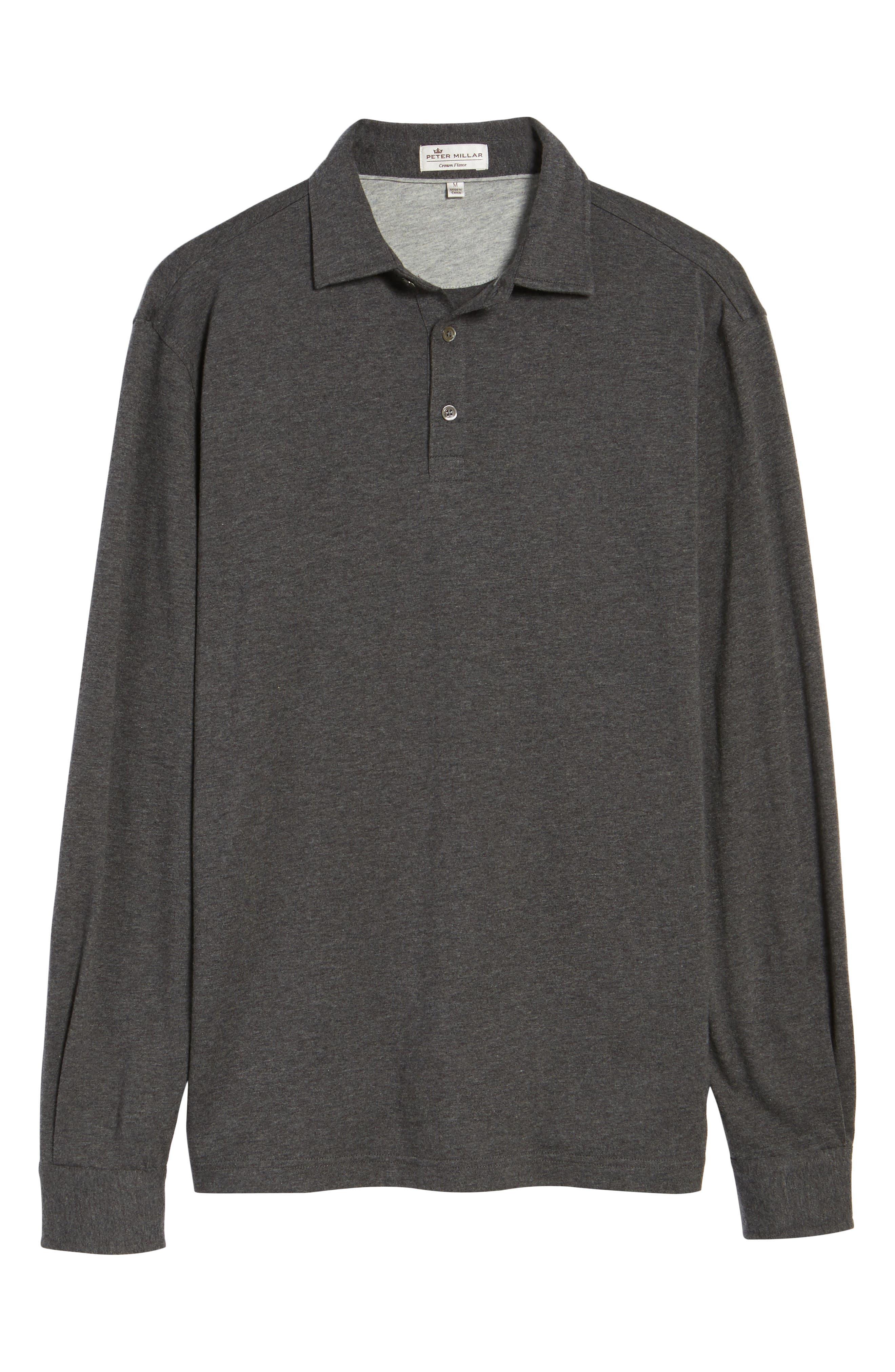 Alternate Image 6  - Peter Millar Crown Long Sleeve Polo