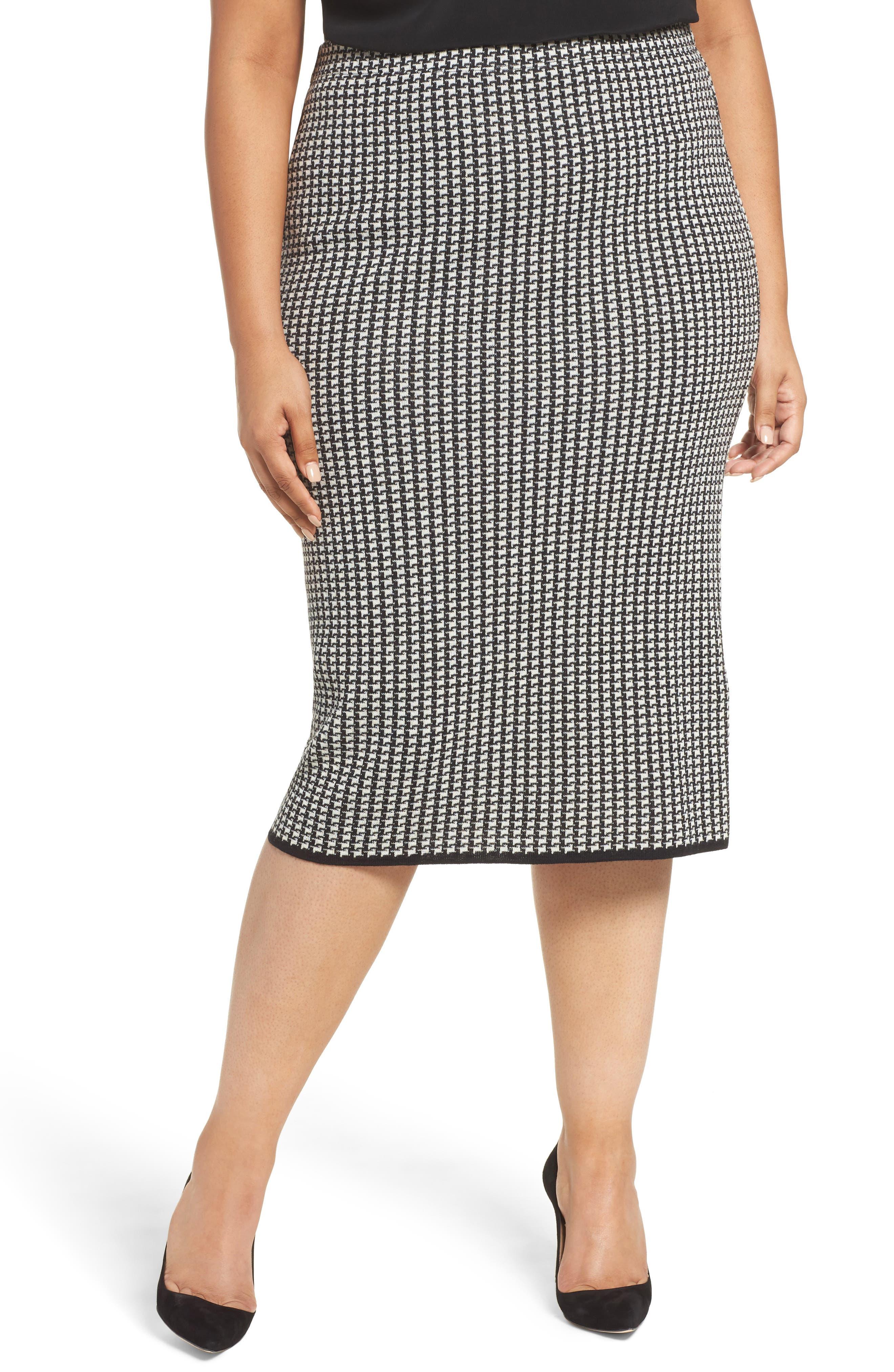 Persona by Marina Rinaldi Georgia Knit Pencil Skirt (Plus Size)