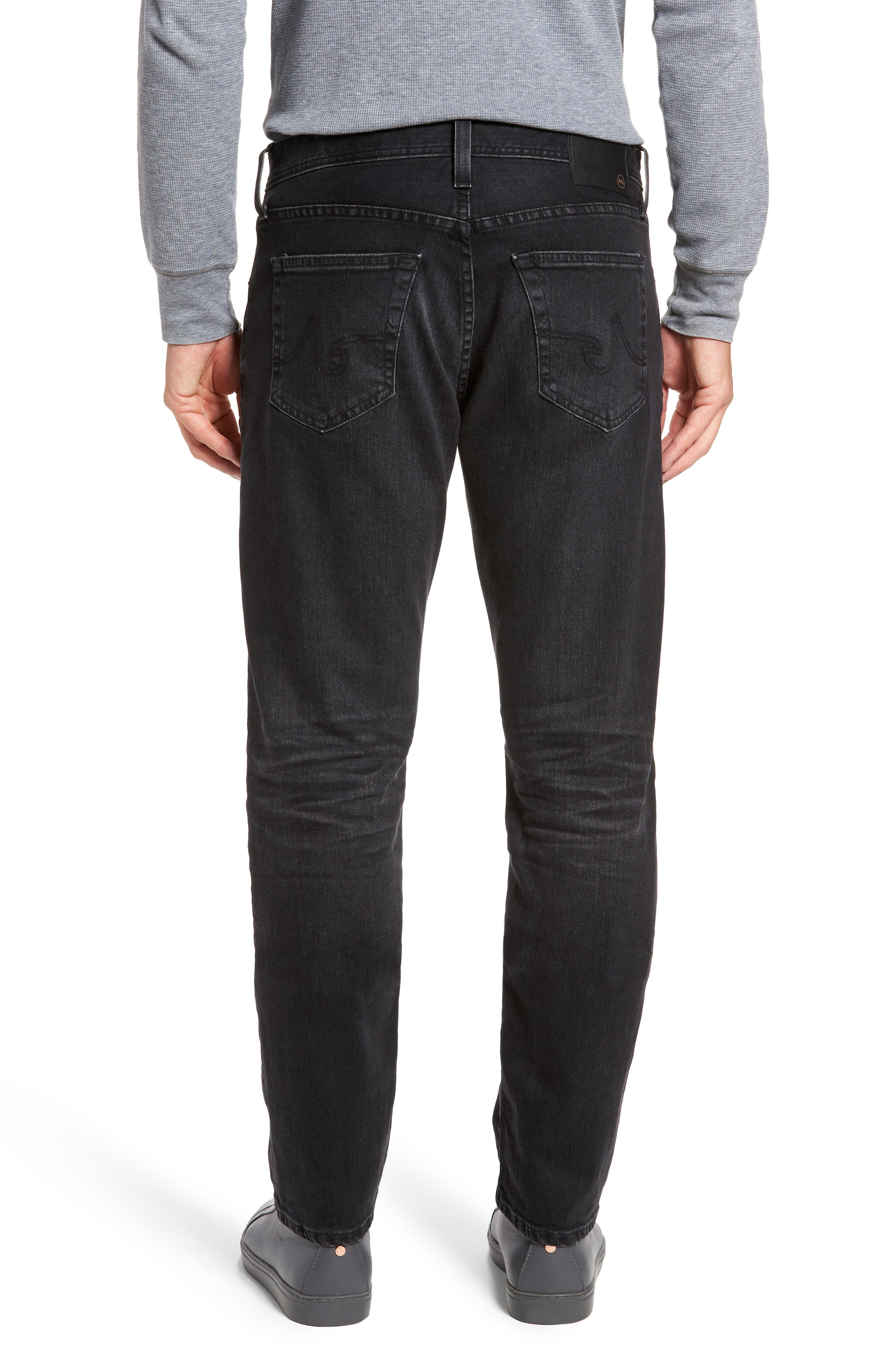 Alternate Image 2  - AG Graduate Slim Straight Fit Jeans (7 Years Asphalt)