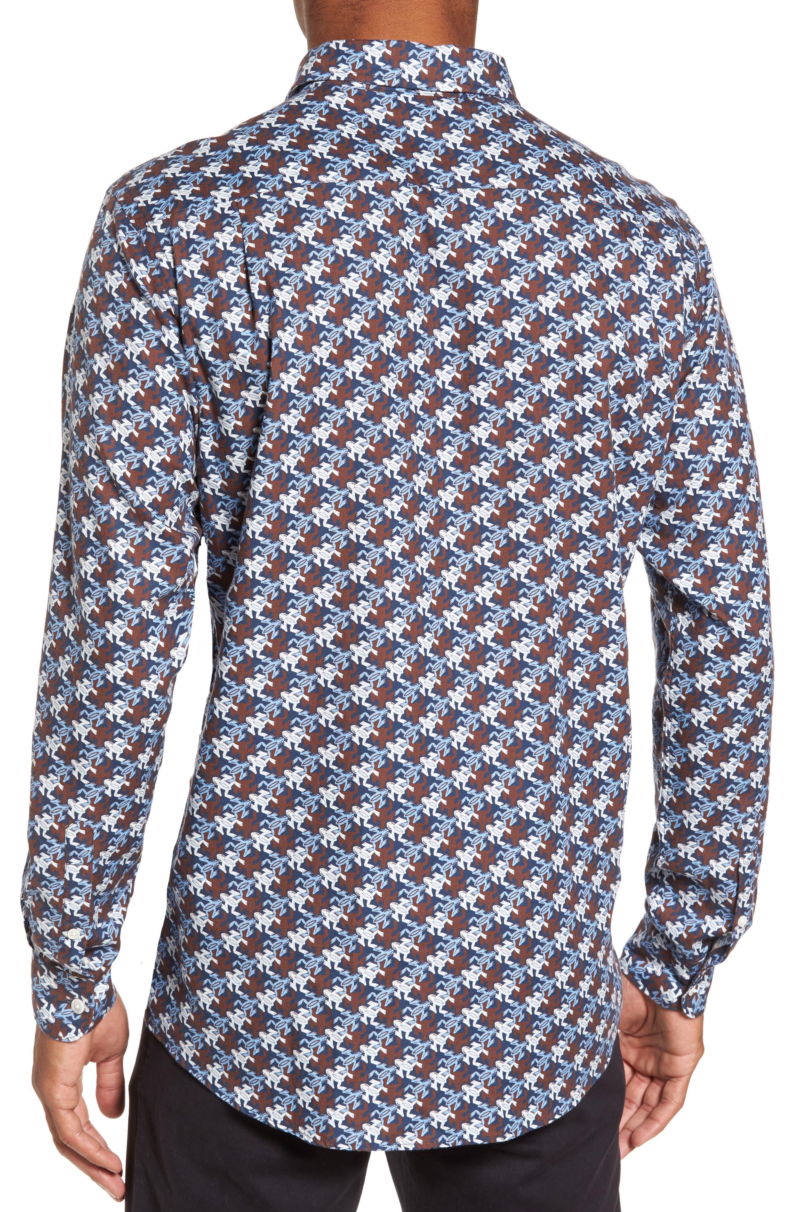 Alternate Image 2  - Rodd & Gunn Mason Bay Sports Fit Frog Sport Shirt