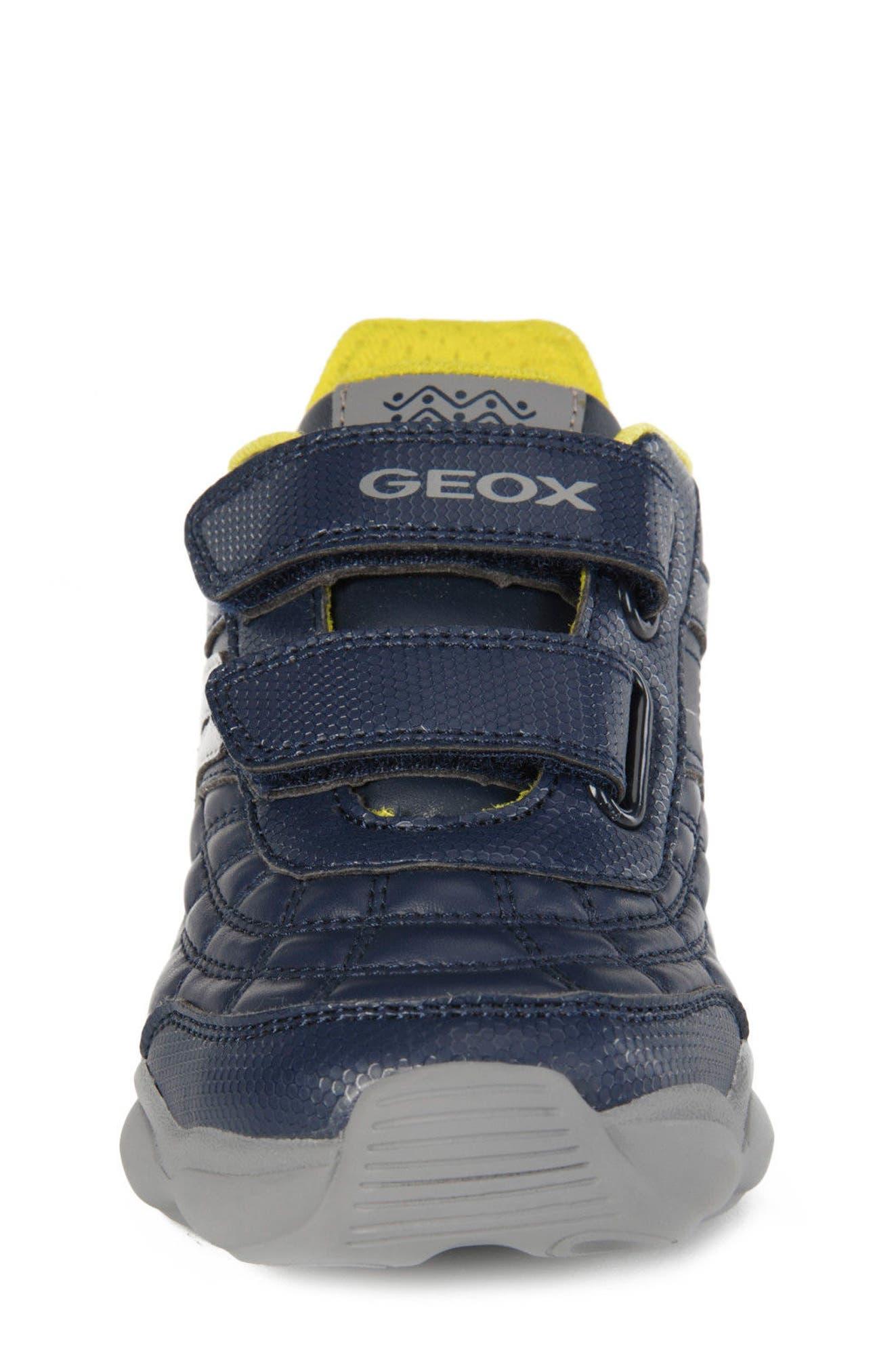 Munfrey Sneaker,                             Alternate thumbnail 4, color,                             Navy/ Grey