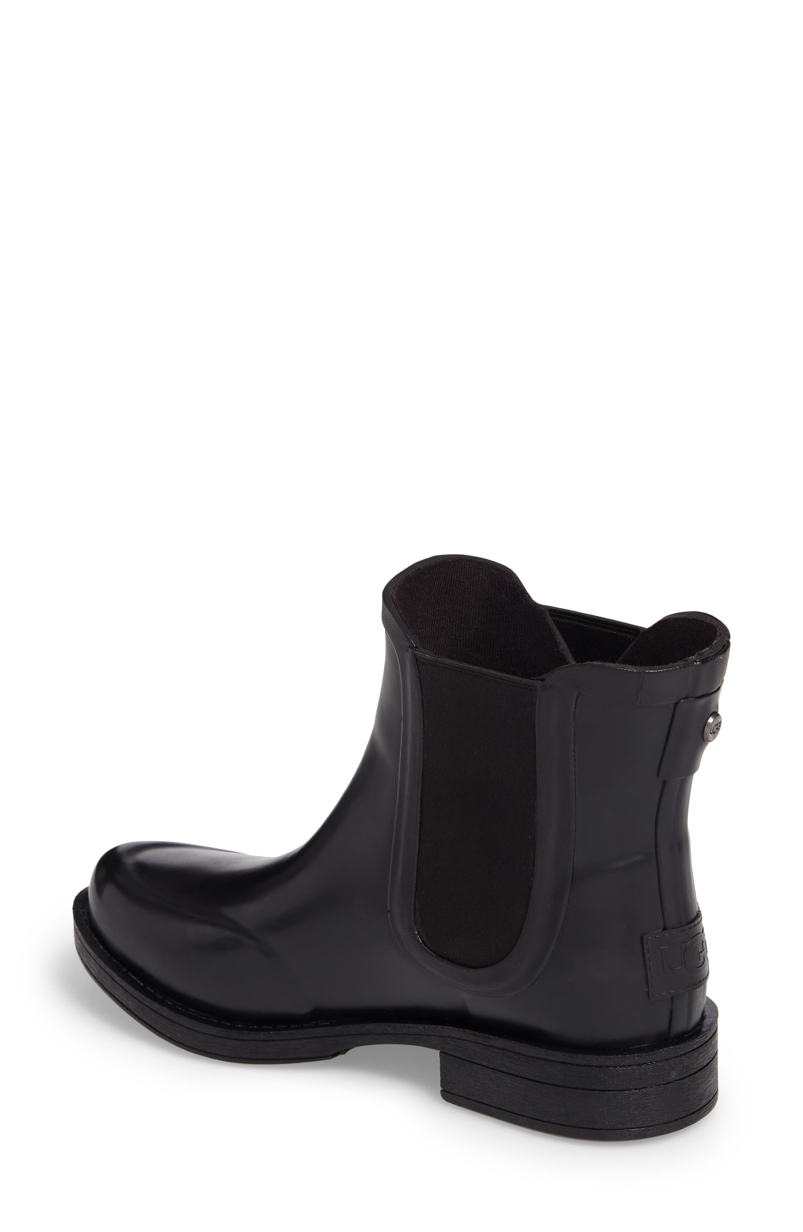 Alternate Image 2  - UGG® Aviana Chelsea Rain Boot (Women)
