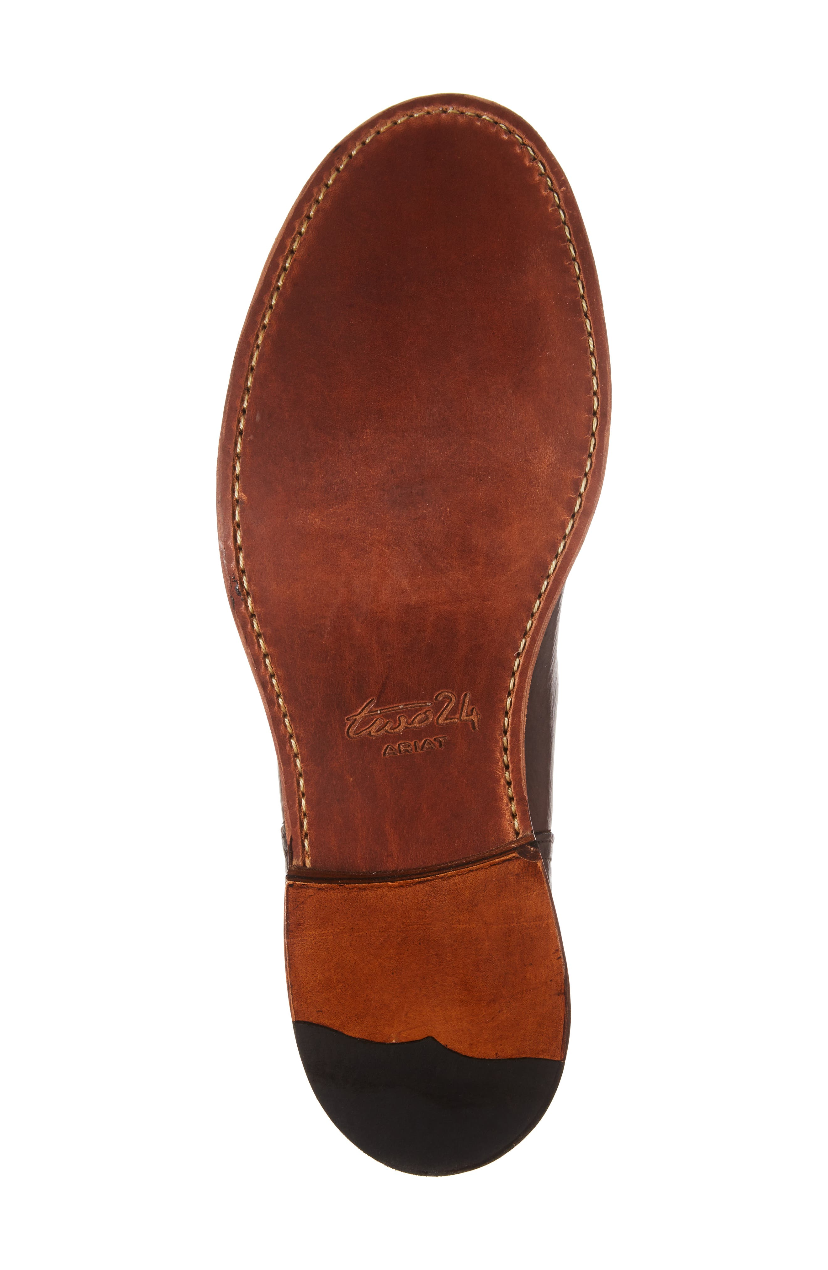 Ariat Highlands Cap Toe Boot,                             Alternate thumbnail 6, color,                             Whiskey Bourbon Leather