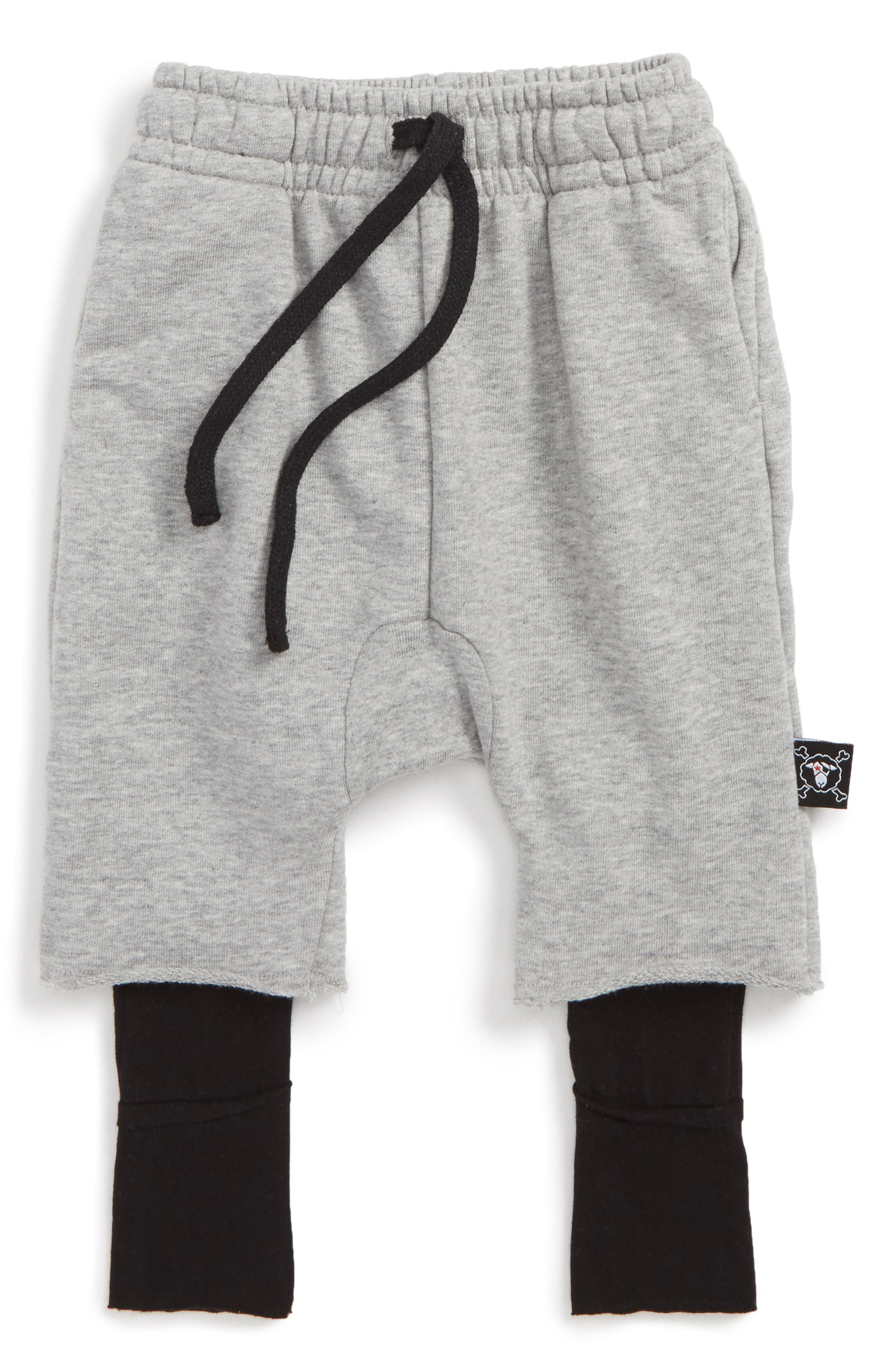 One On One Pants,                         Main,                         color, Heather Grey