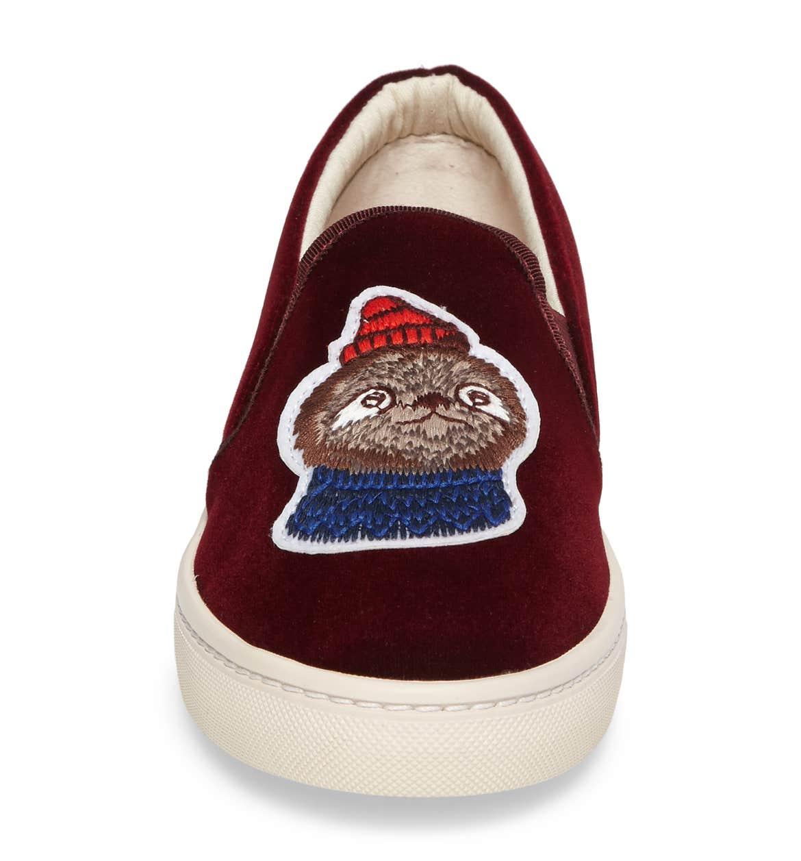 Cute sloth sneaker